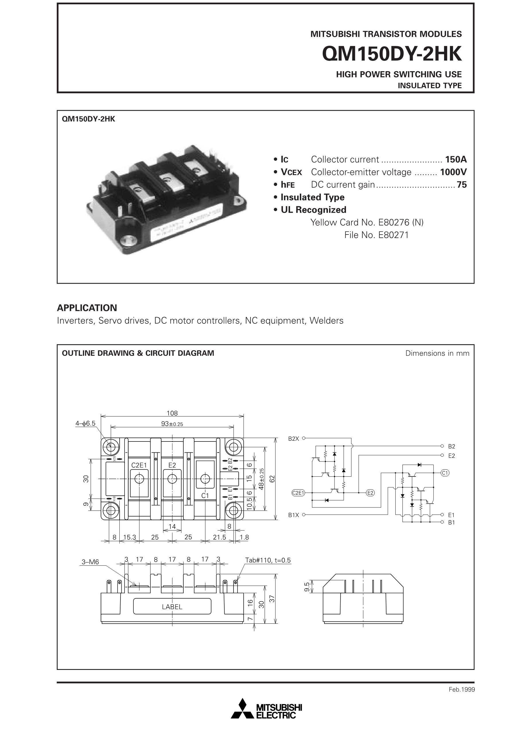 QM150DY-2H's pdf picture 1