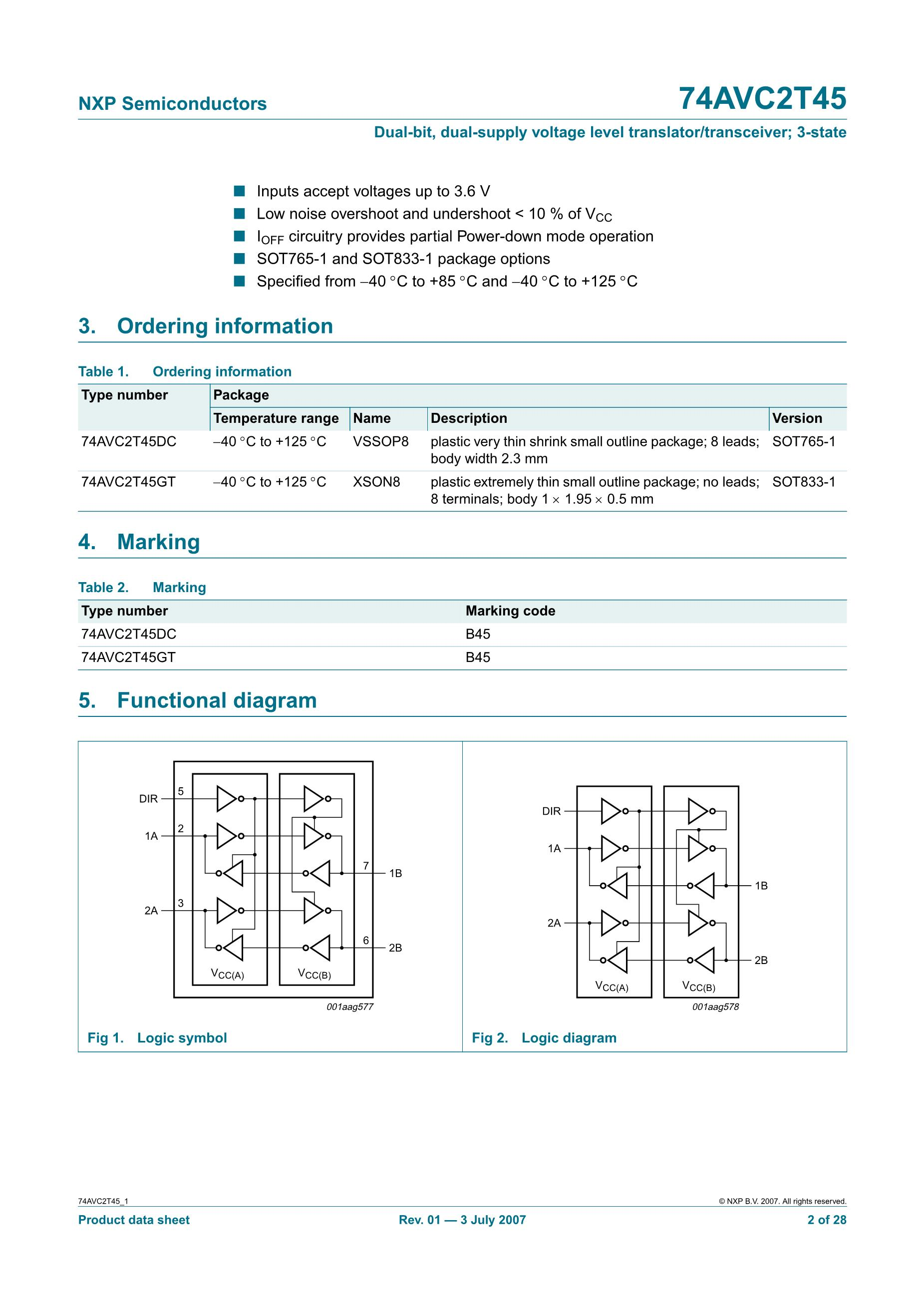 NXP Semicon TJA1042T/1J's pdf picture 2