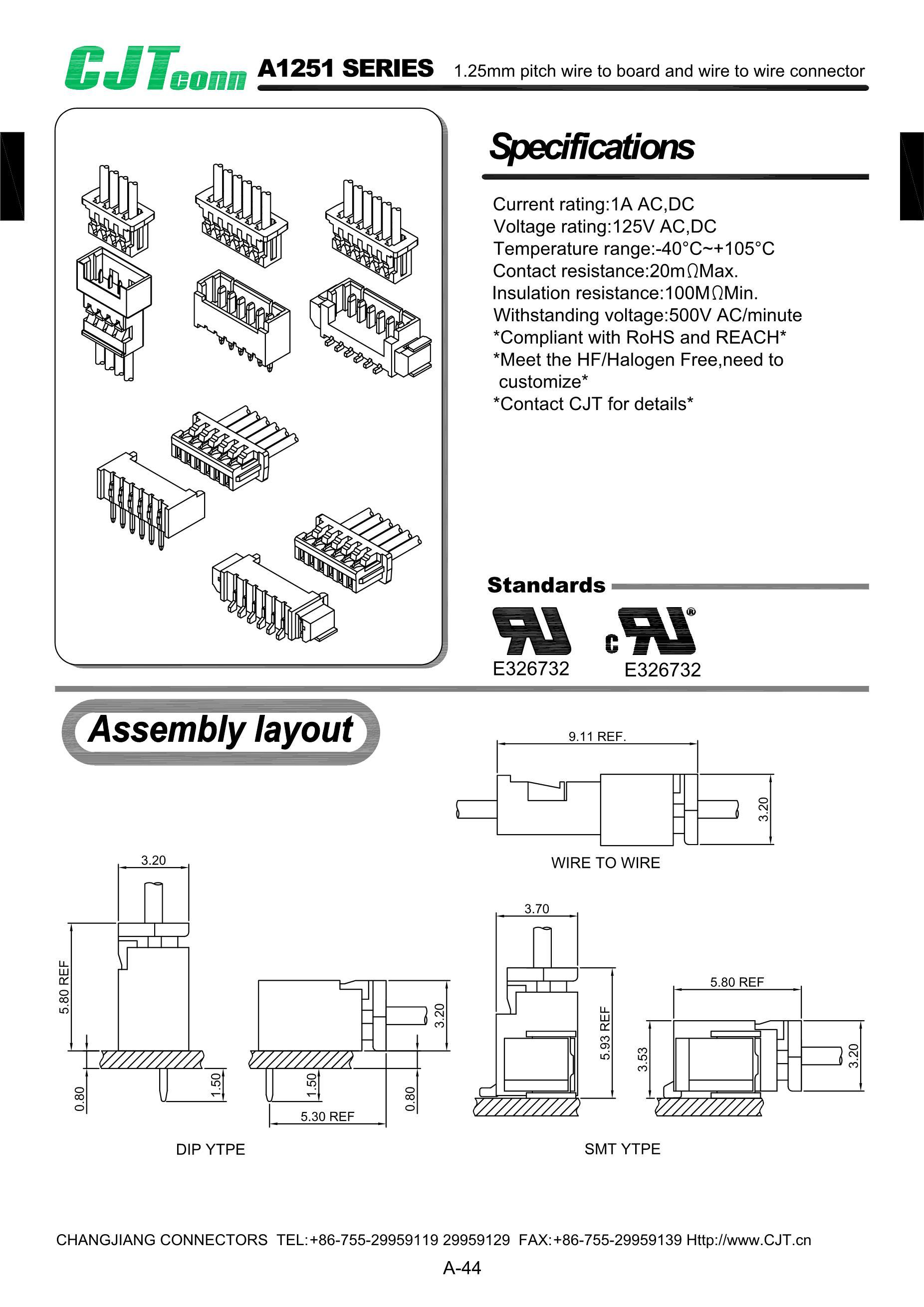 Changjiang Electronics Tech (CJ) 2SC2073's pdf picture 1