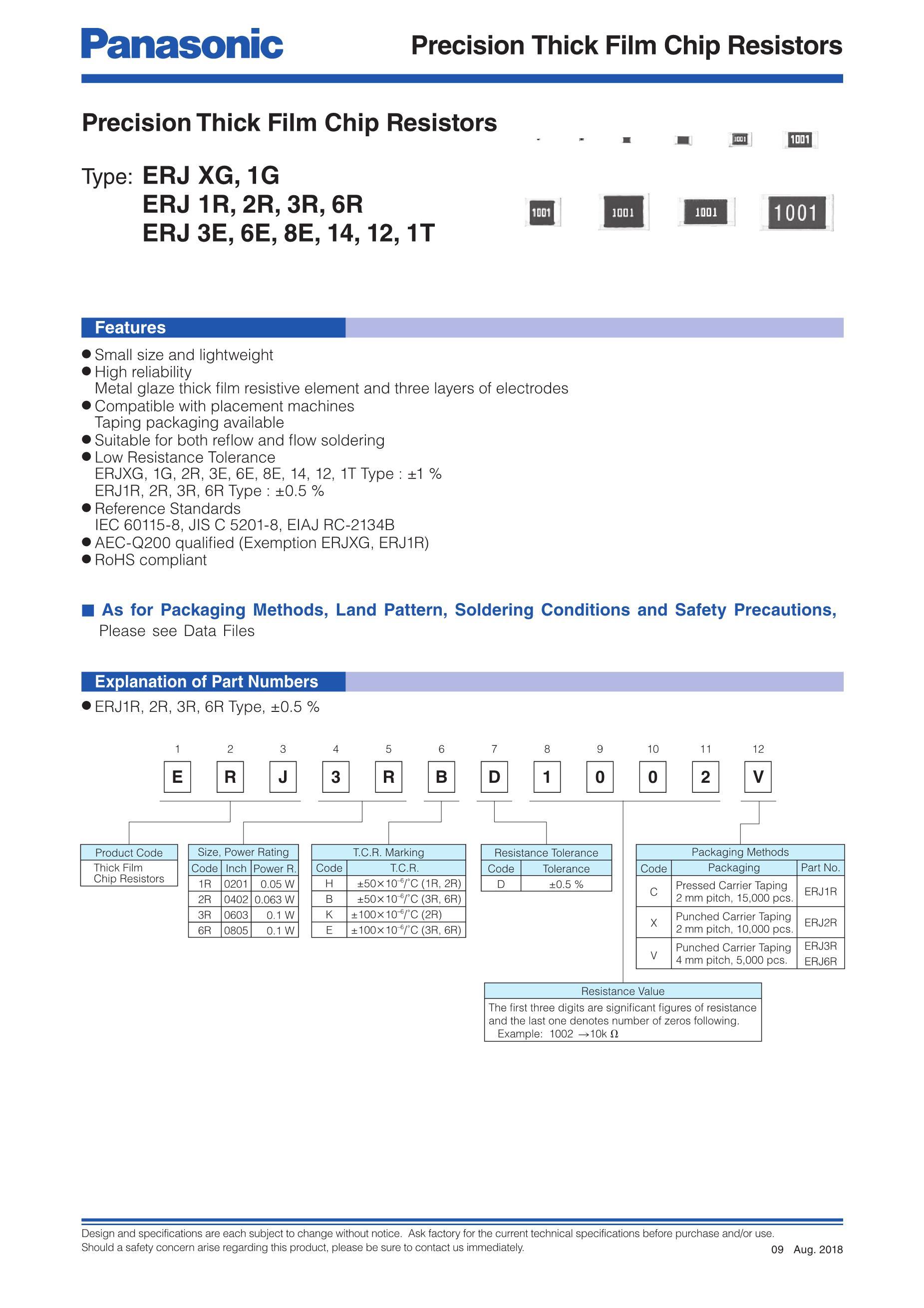 ERJ3EKF1542V's pdf picture 1