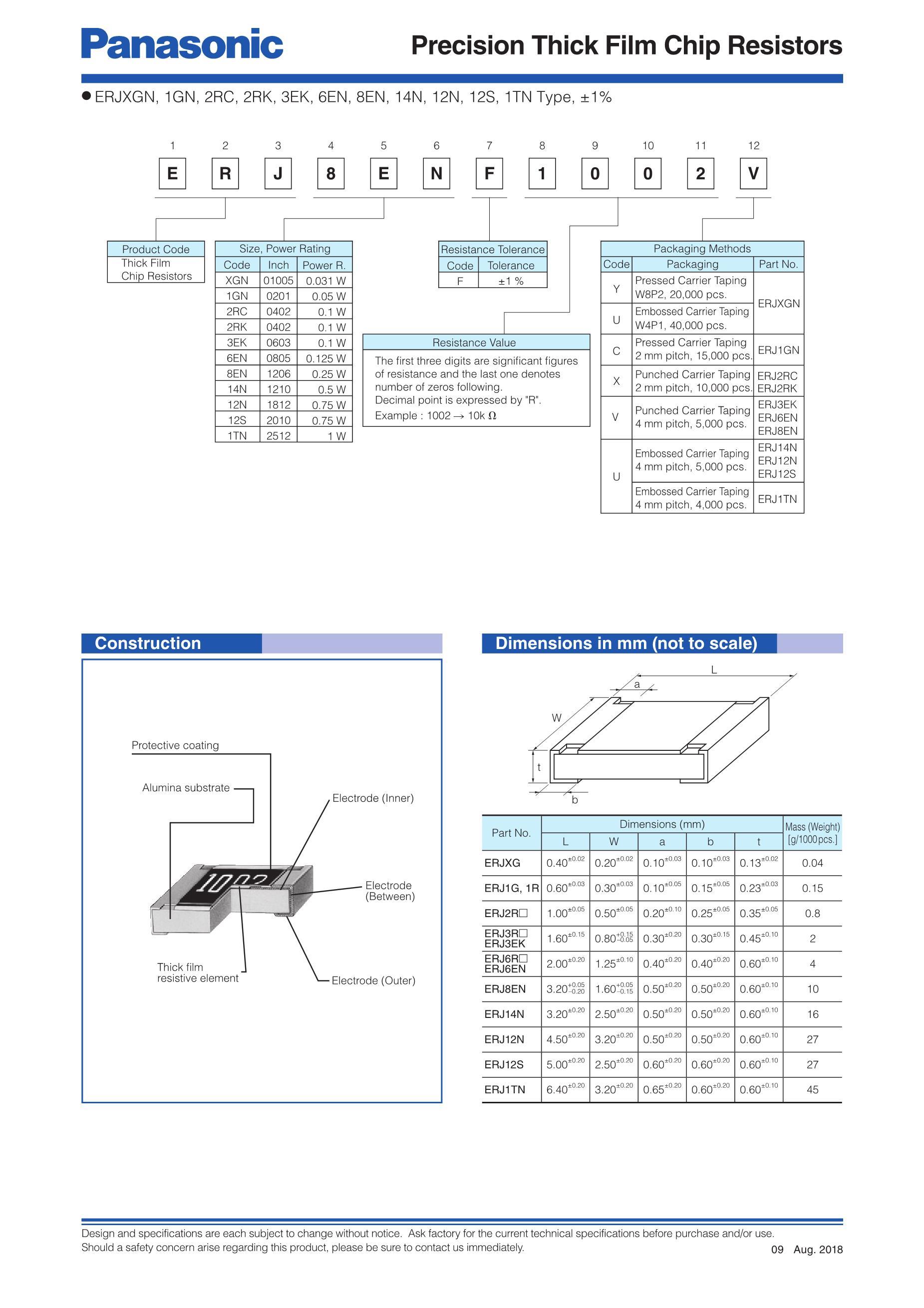 ERJ3EKF1181V's pdf picture 2