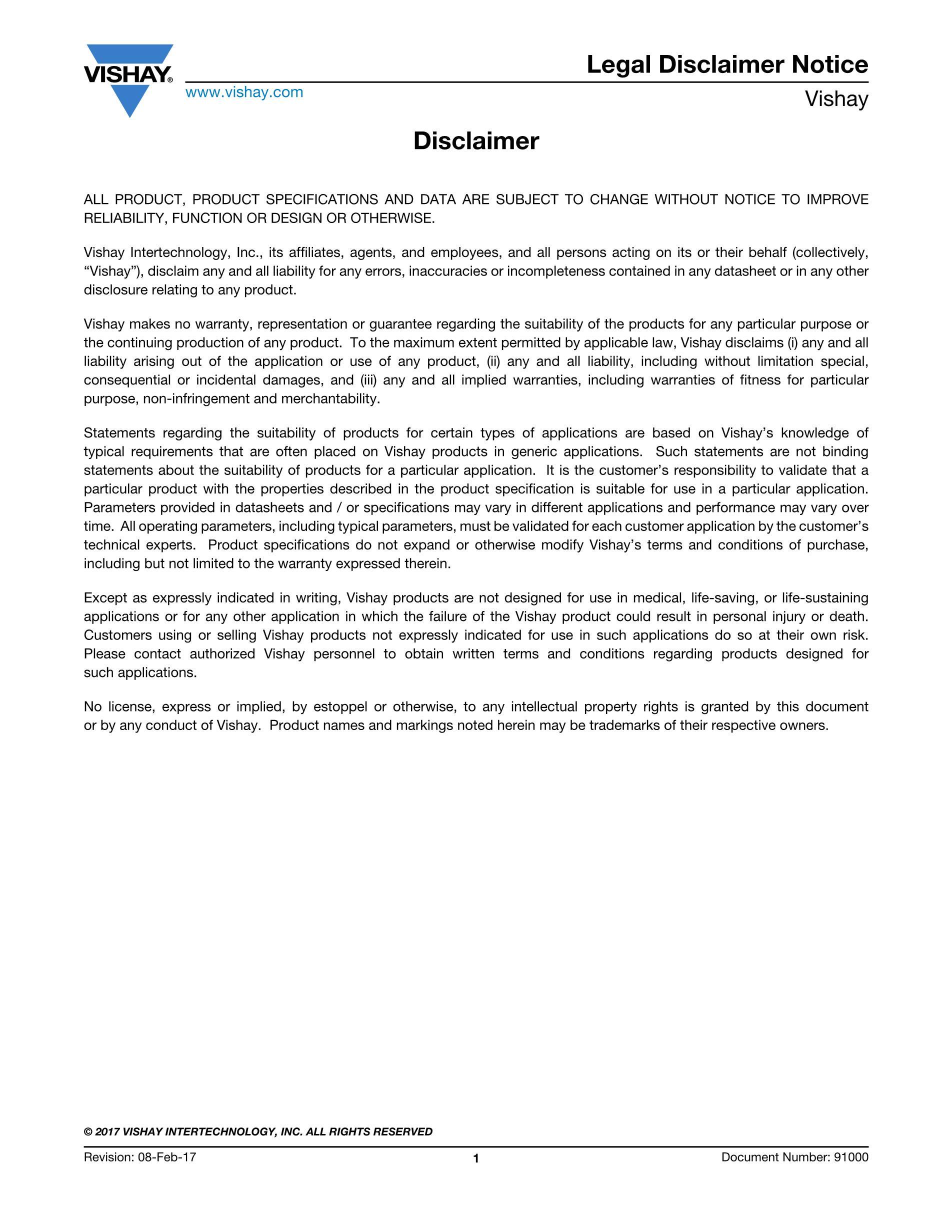Vishay Intertech BYG23M-E3/TR's pdf picture 3