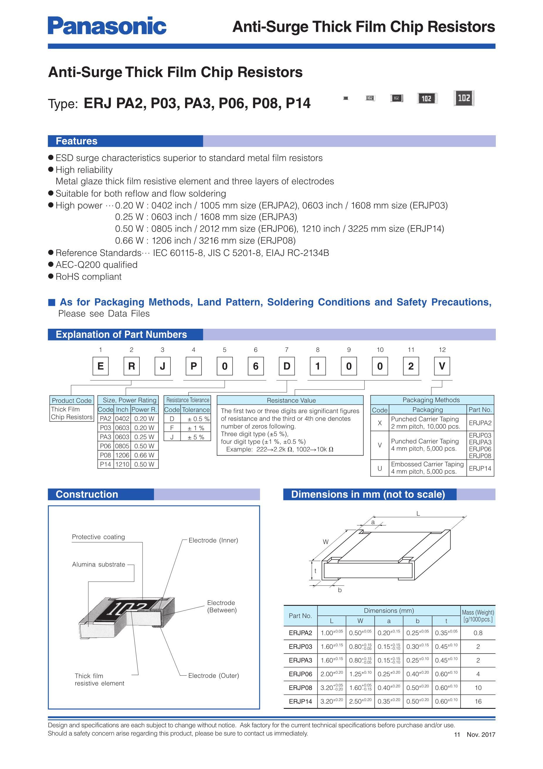 ERJP14J101U's pdf picture 1