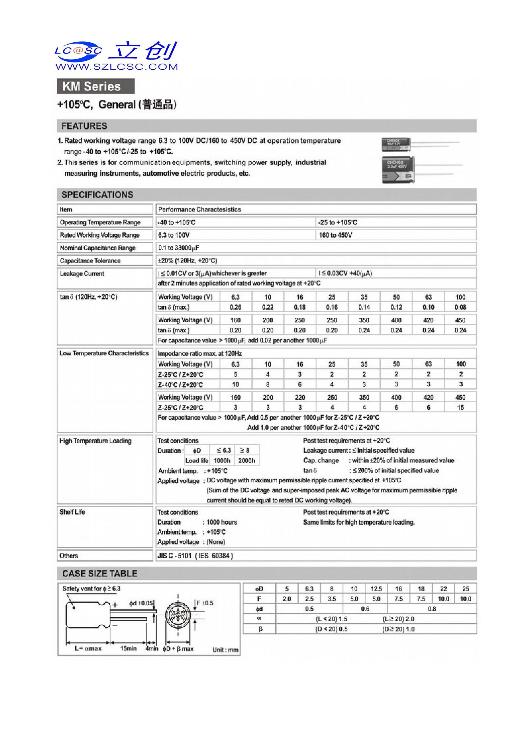 100UF 16V's pdf picture 2