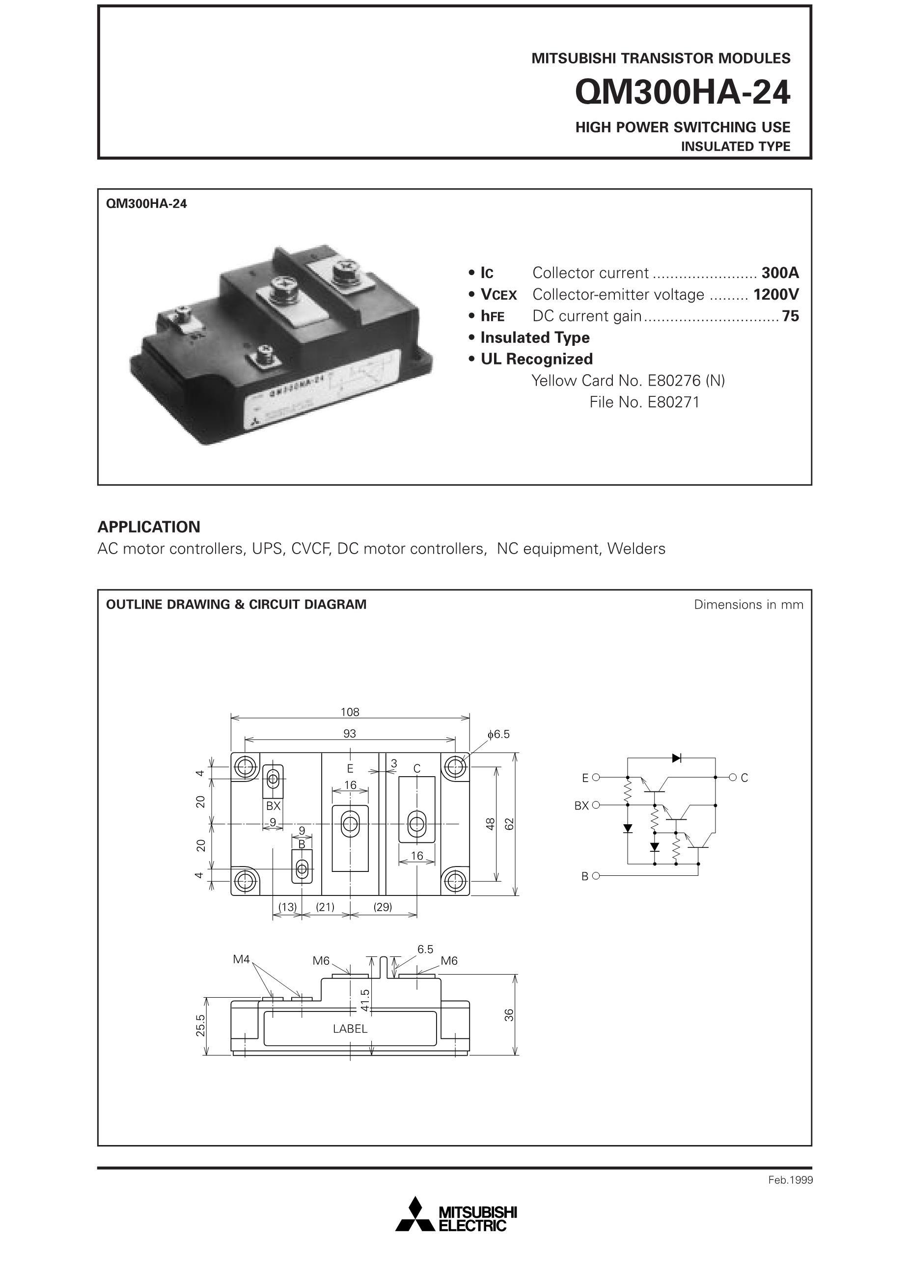 QM30DY-H QM50DY's pdf picture 1