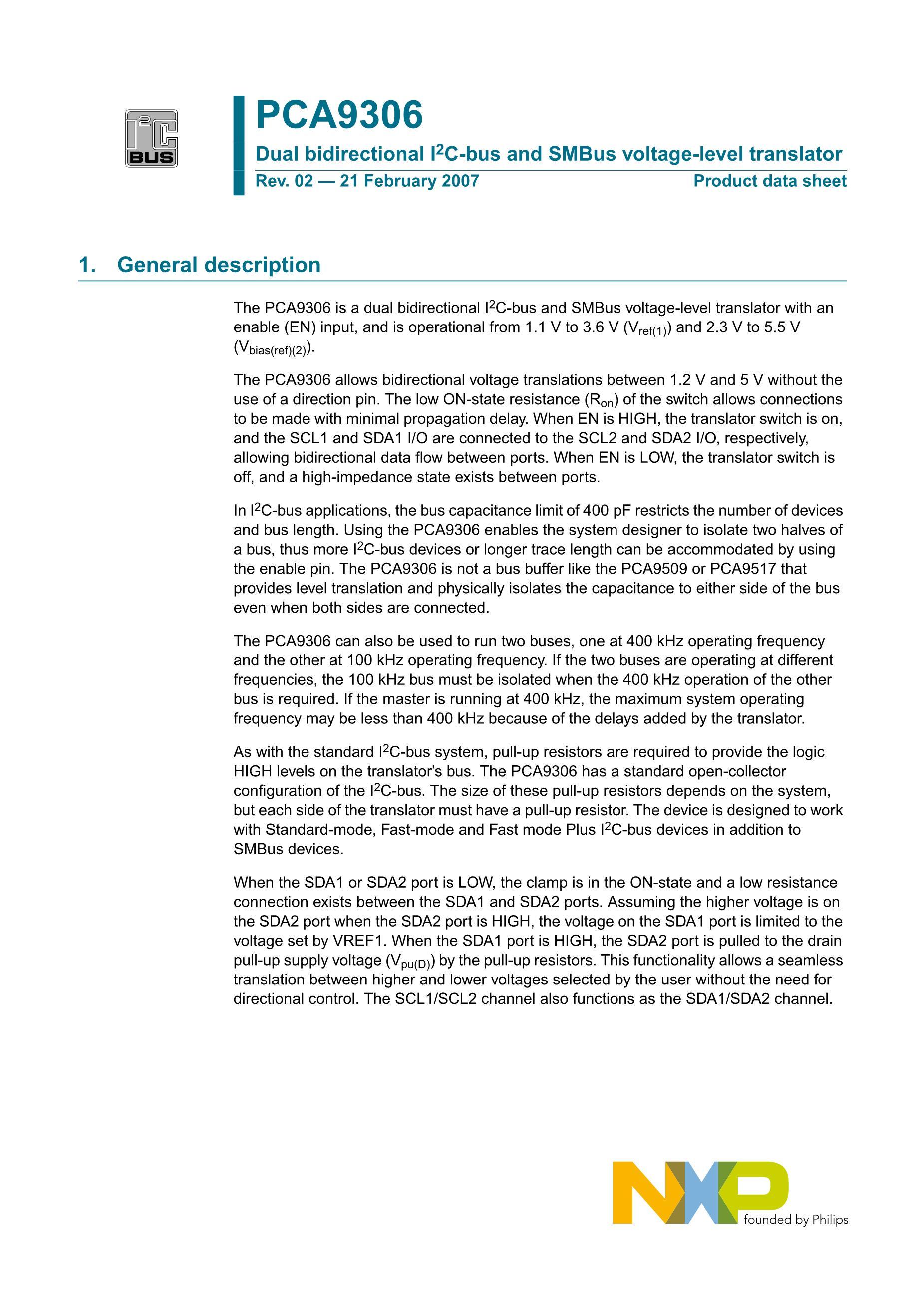 PCA9670D,518's pdf picture 1