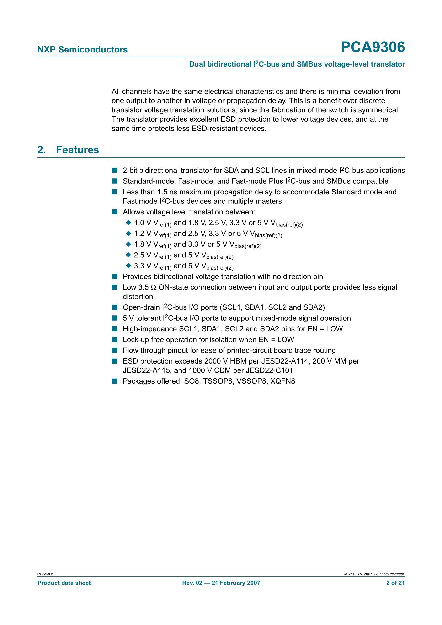 PCA9670D,518's pdf picture 2