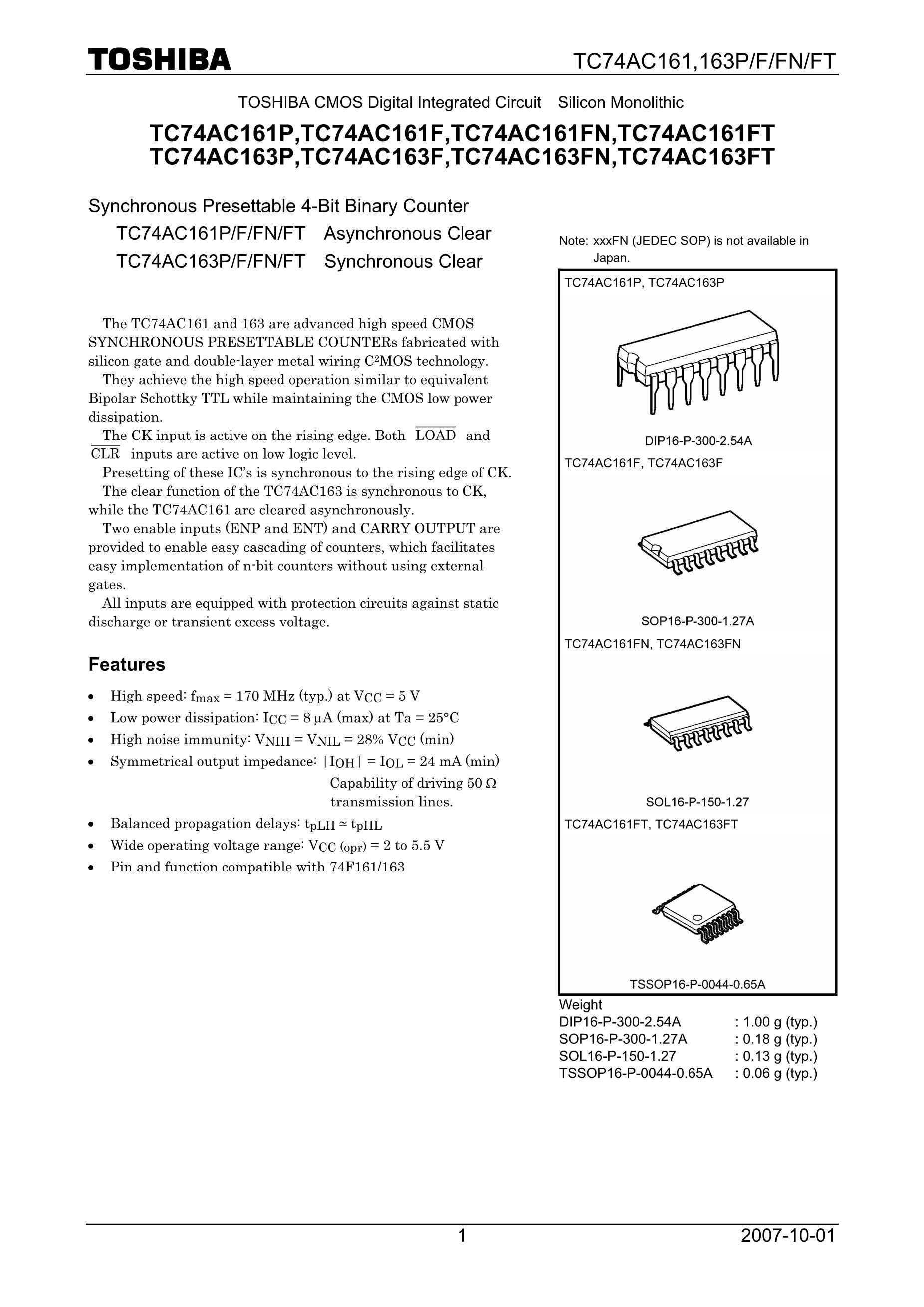 TC74LCX02FT(EL)'s pdf picture 1