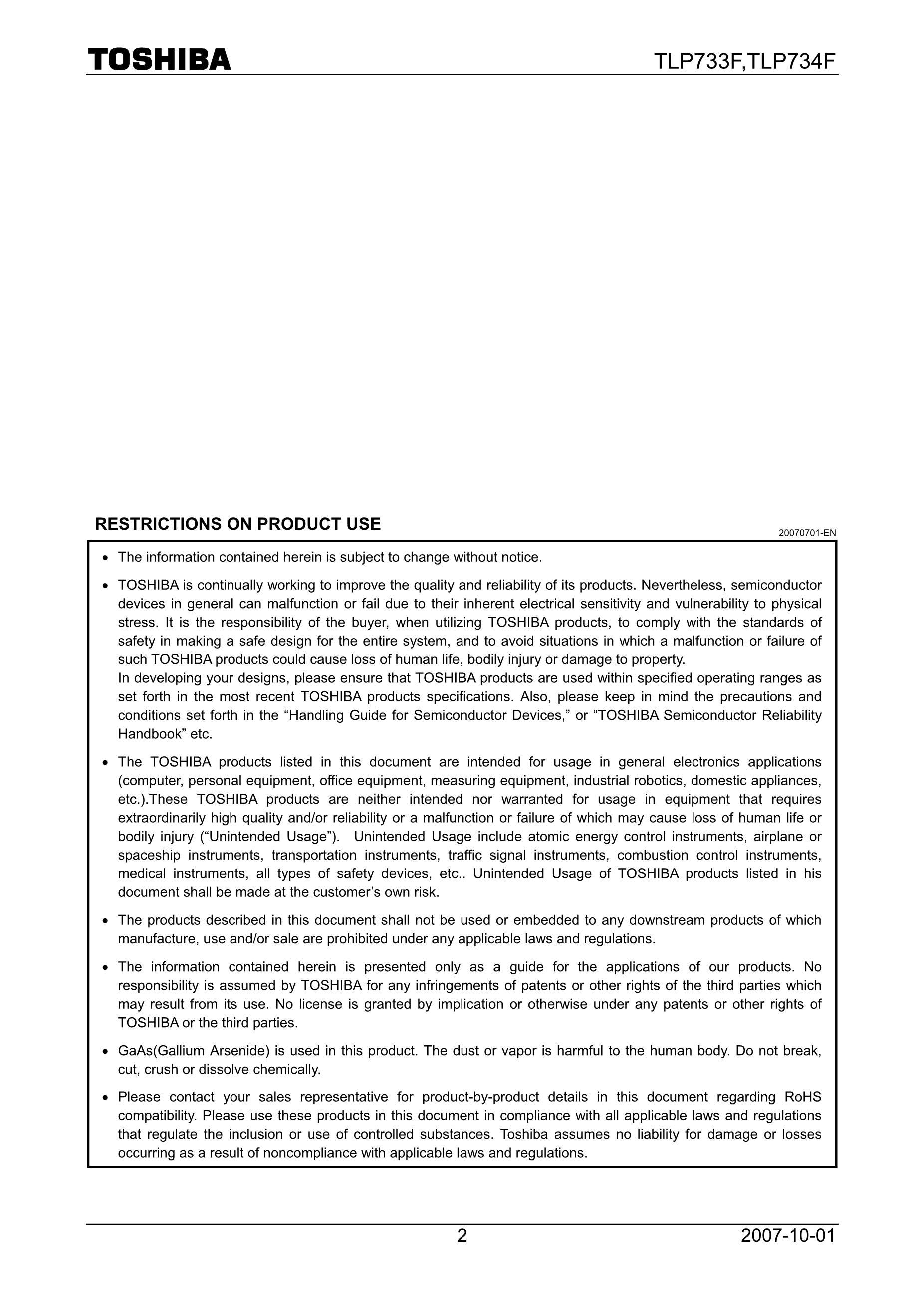 TLP734FGB's pdf picture 2