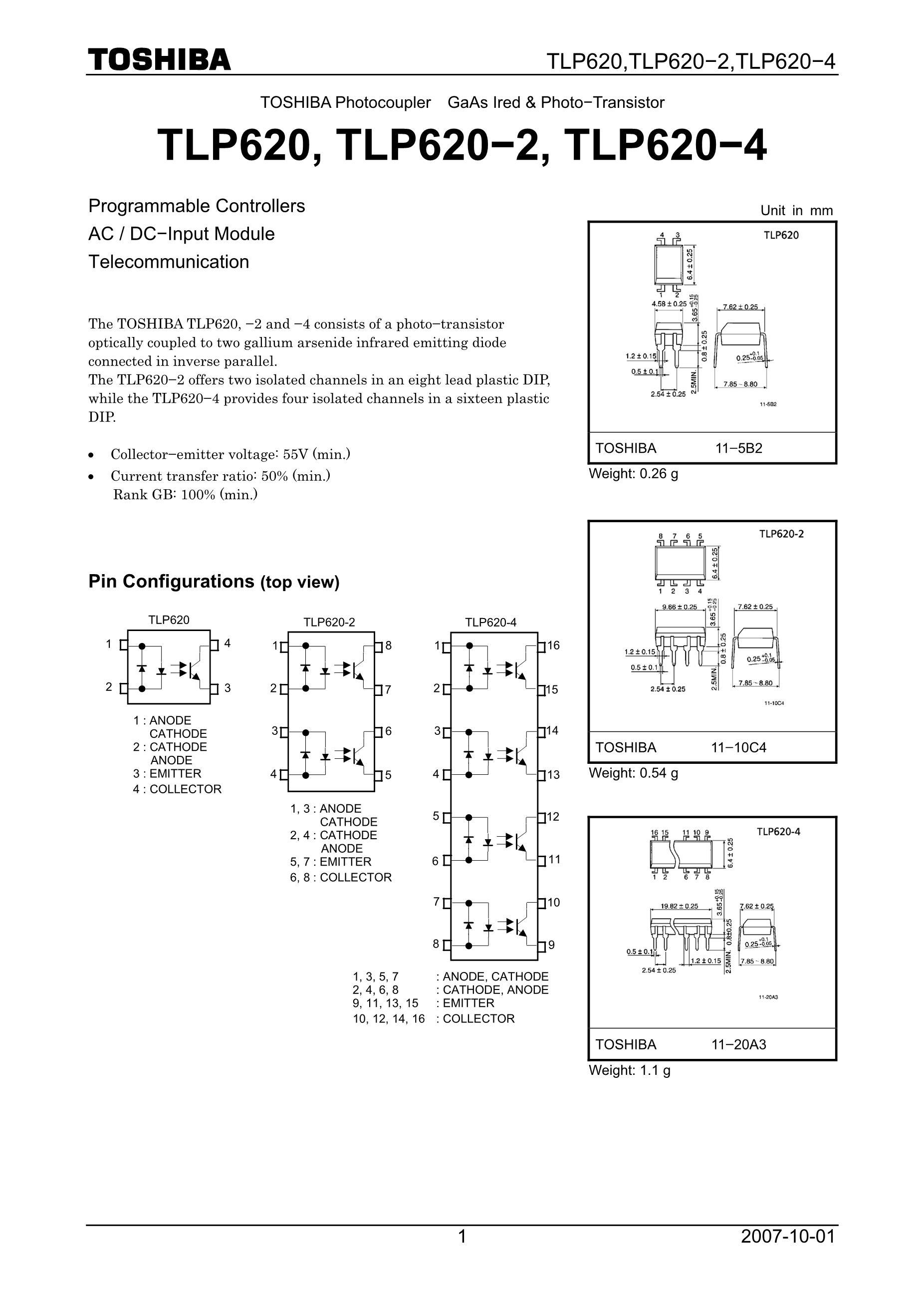 TLP627(F's pdf picture 1