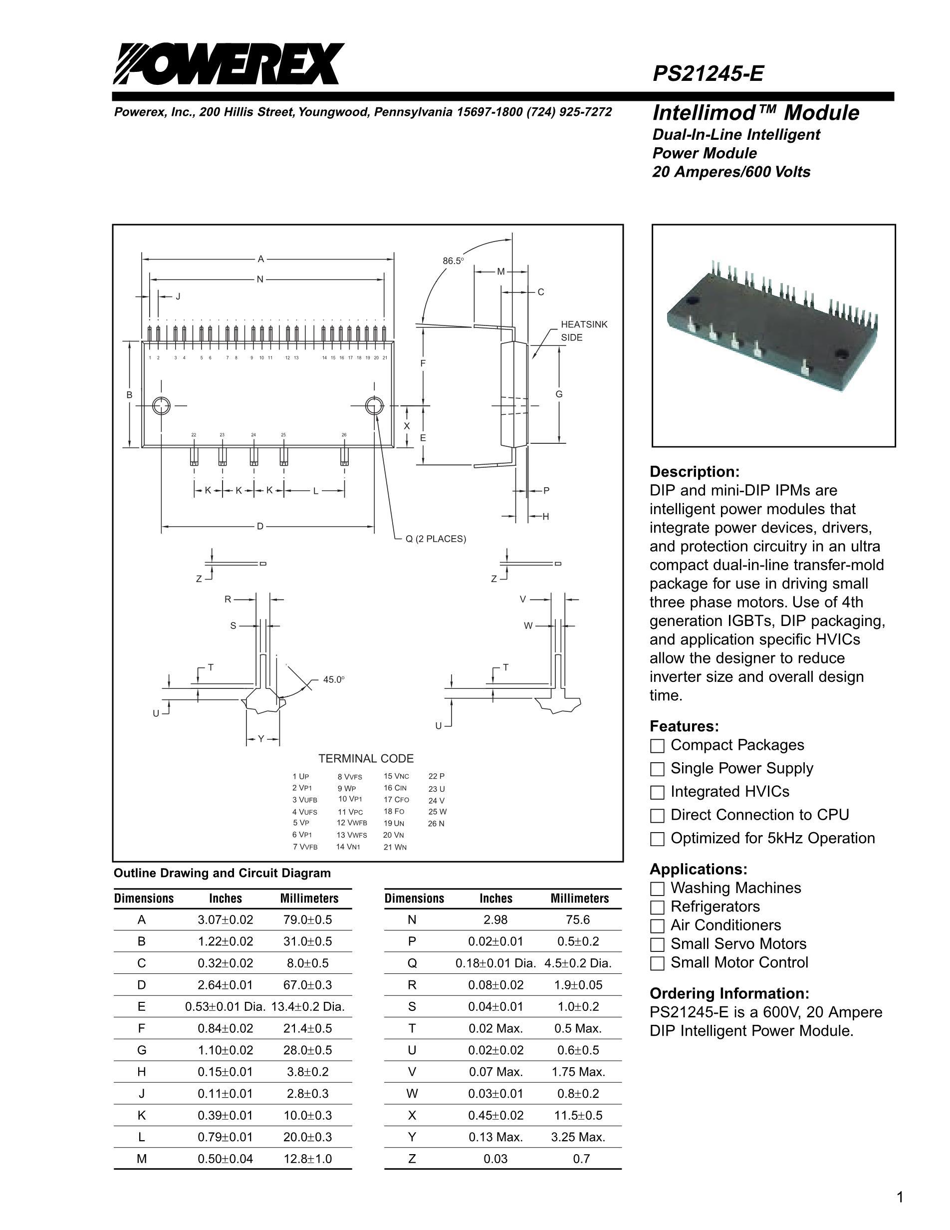 PS21245-E's pdf picture 1