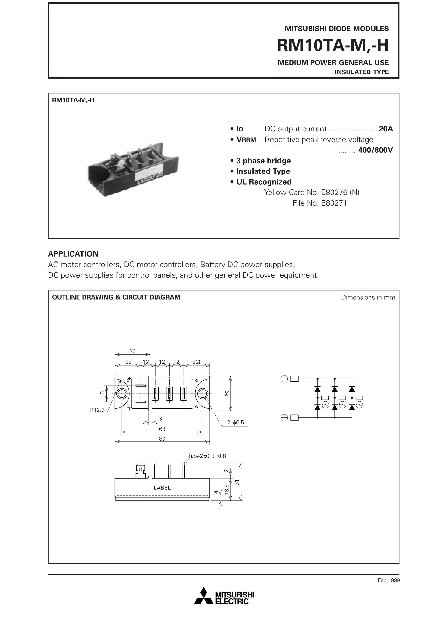 RM10TA-H RM15TA-H's pdf picture 1