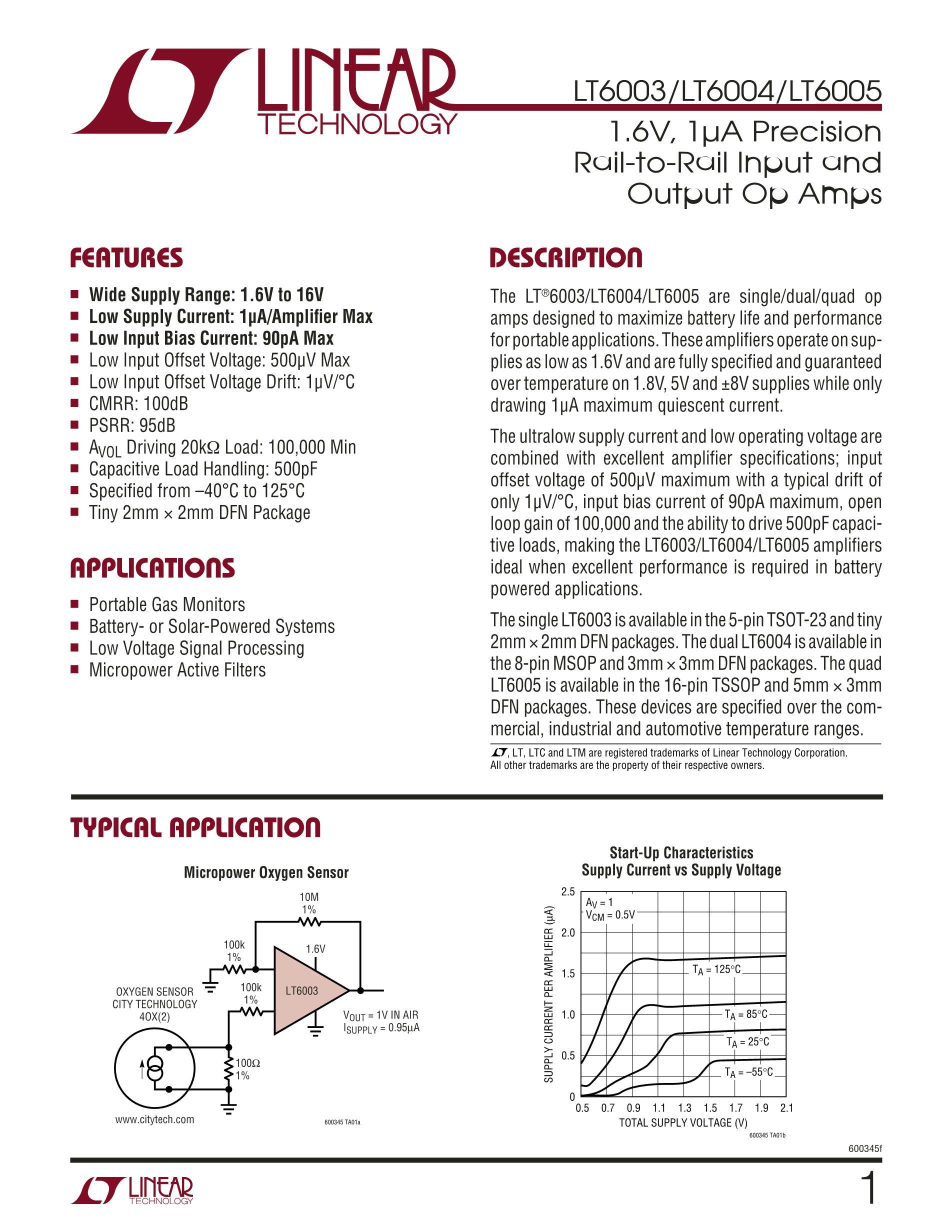 LT6002CDHC's pdf picture 1