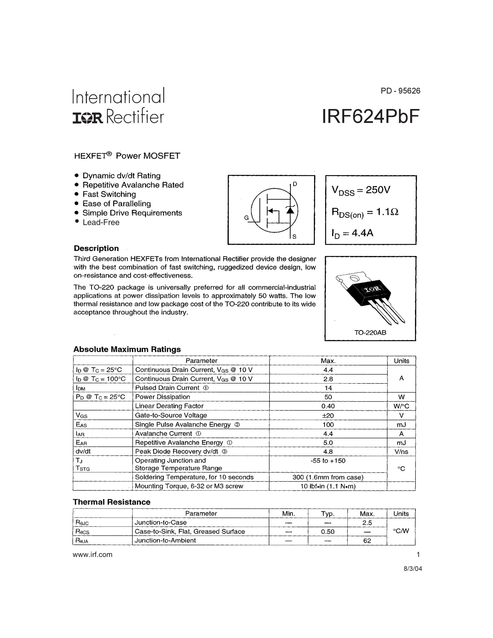 IRF636's pdf picture 1