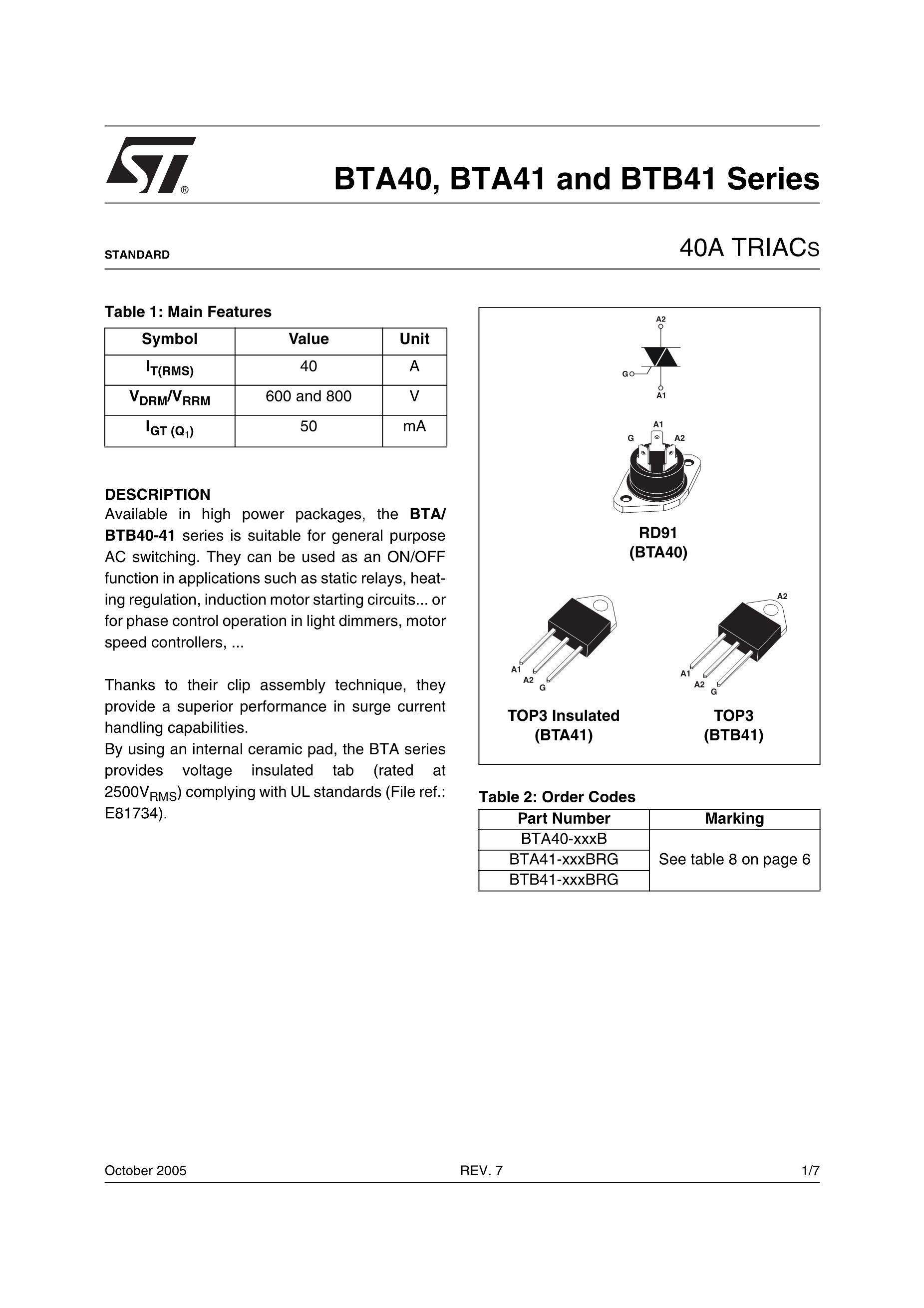 BTA40-800B's pdf picture 1