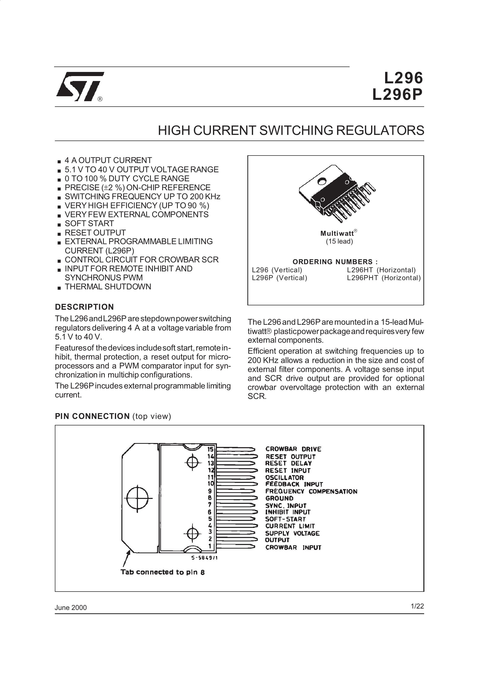 STMICROELECTRONICS's pdf picture 1