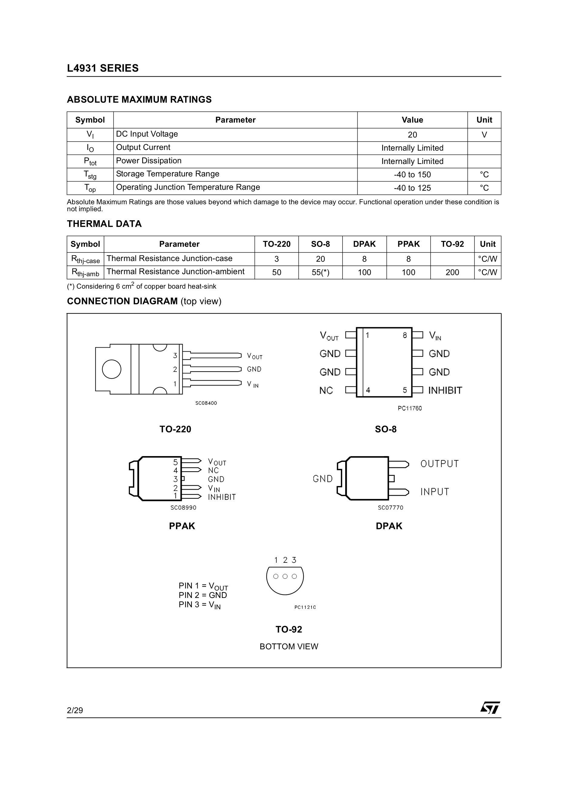 L4931ABD25TR's pdf picture 2