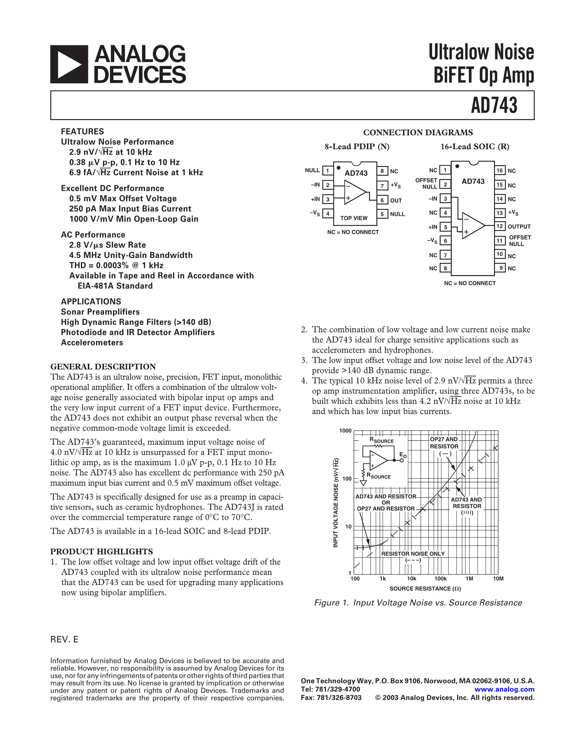 AD743's pdf picture 1