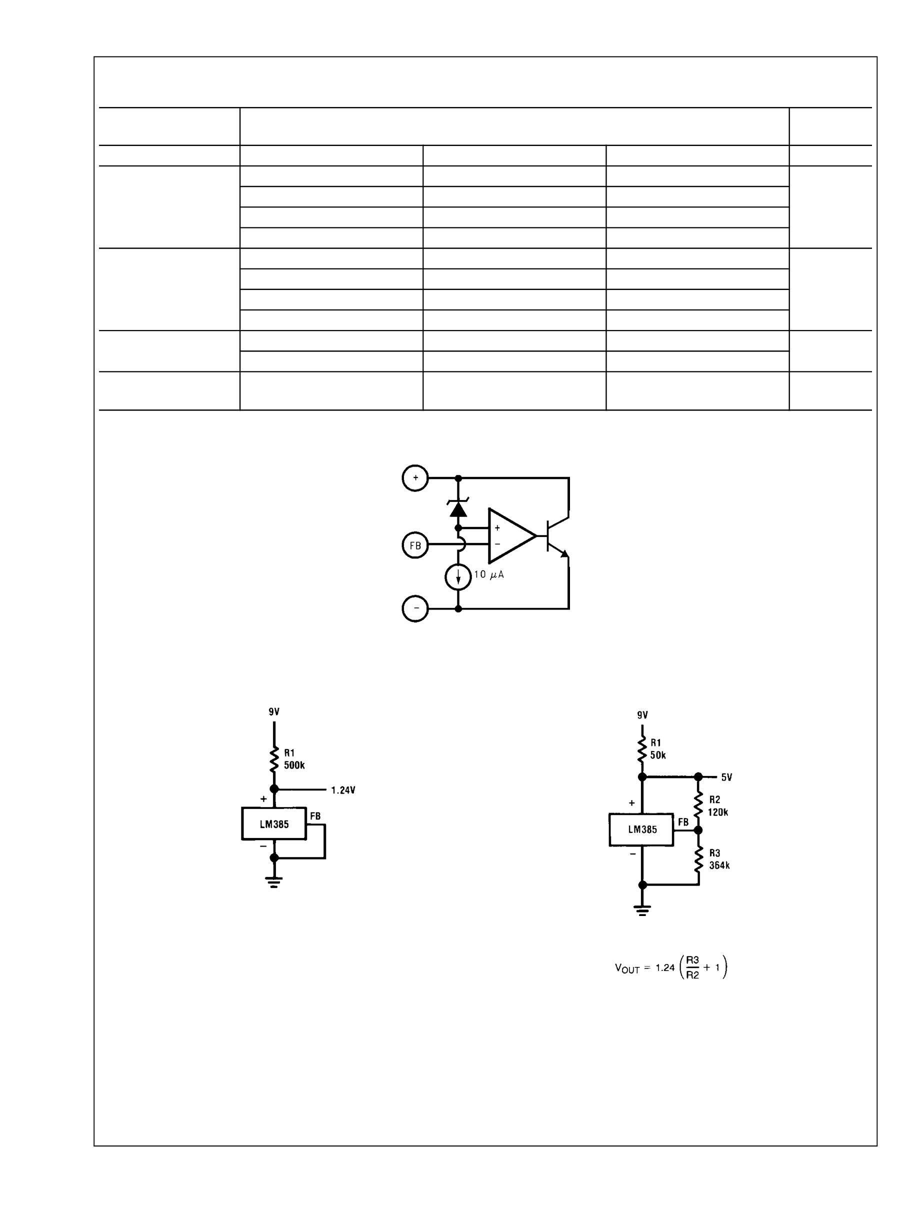 LM285Z-2.5/NOPB's pdf picture 2