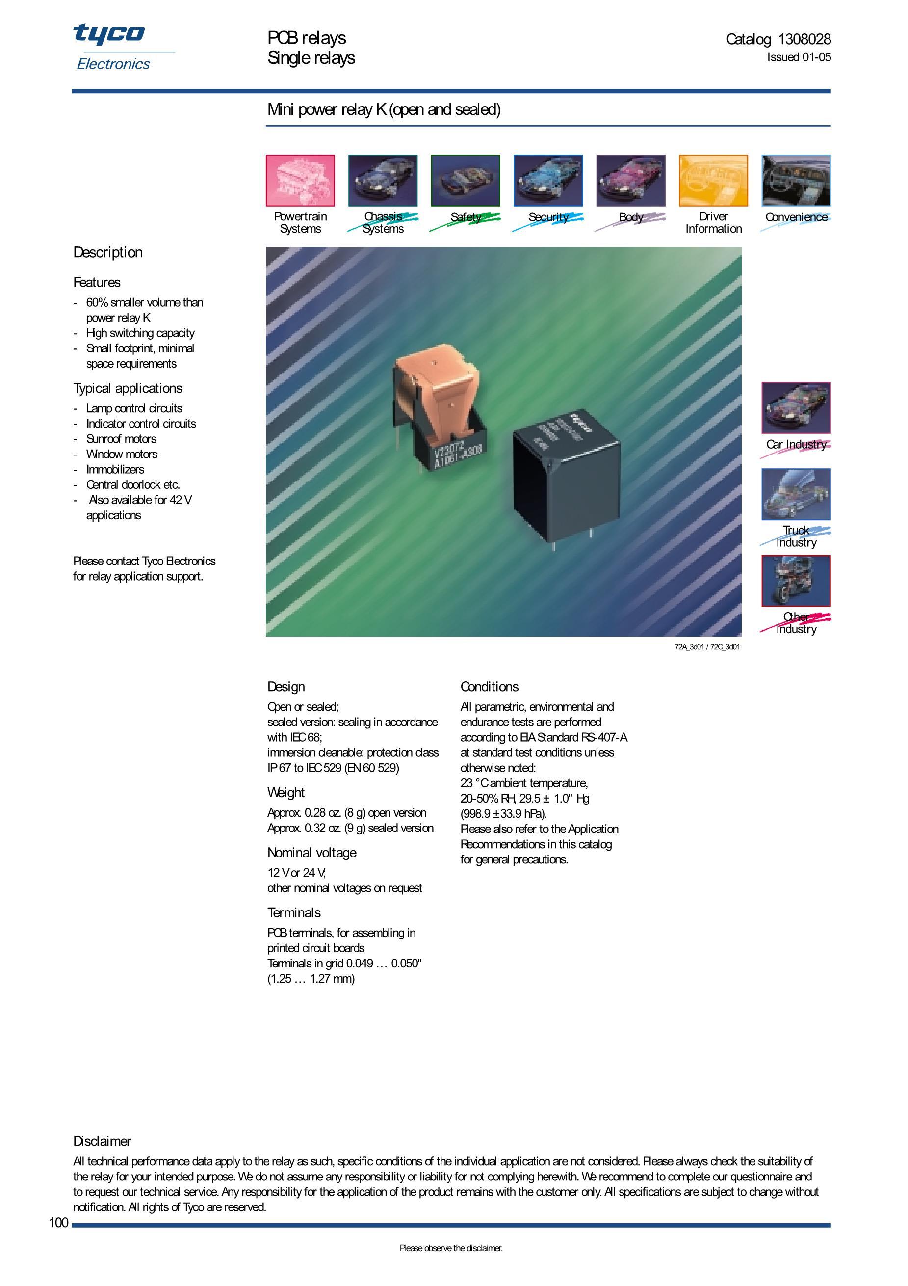 V23042A2001B101's pdf picture 1