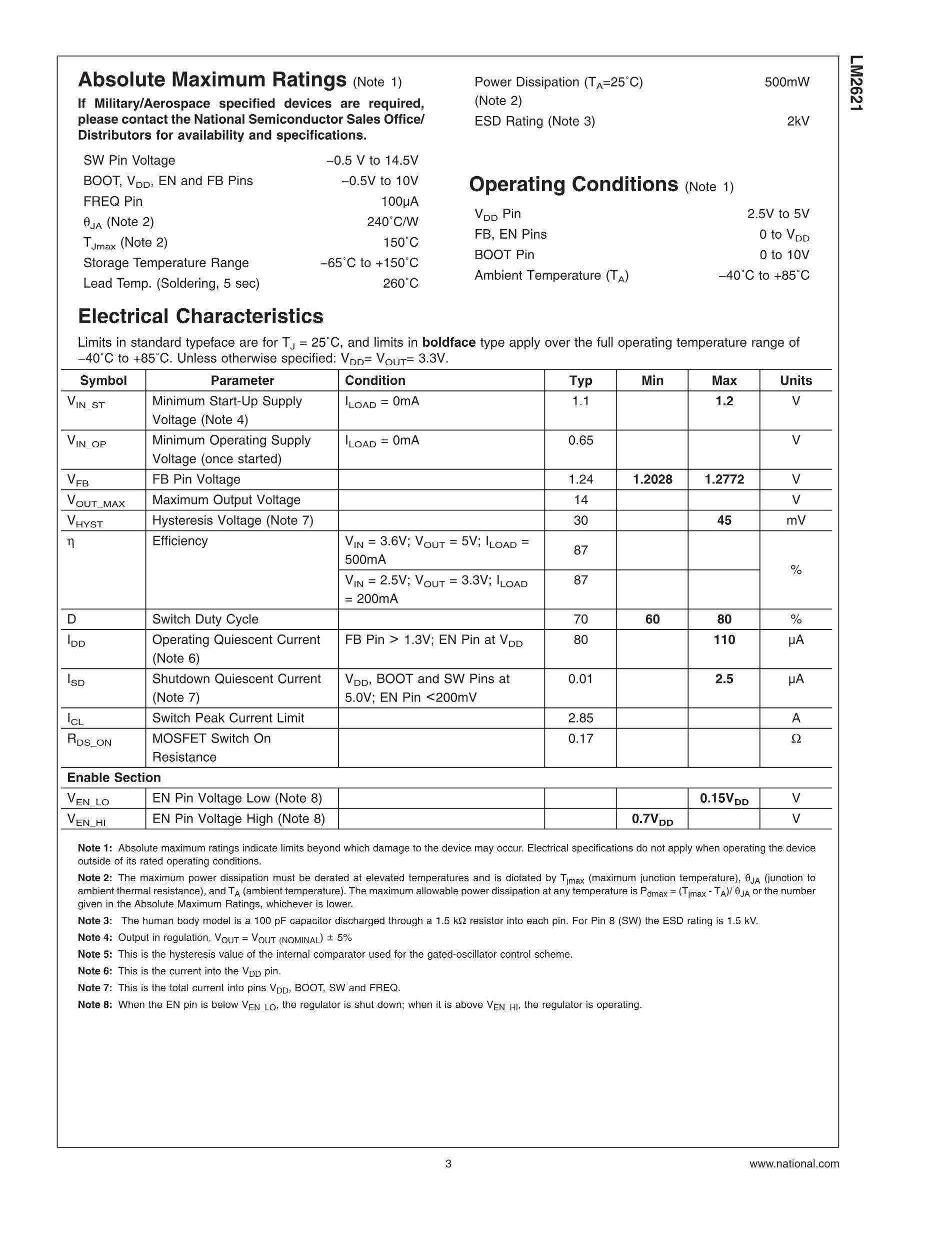 LM2608ABLX1.8's pdf picture 3