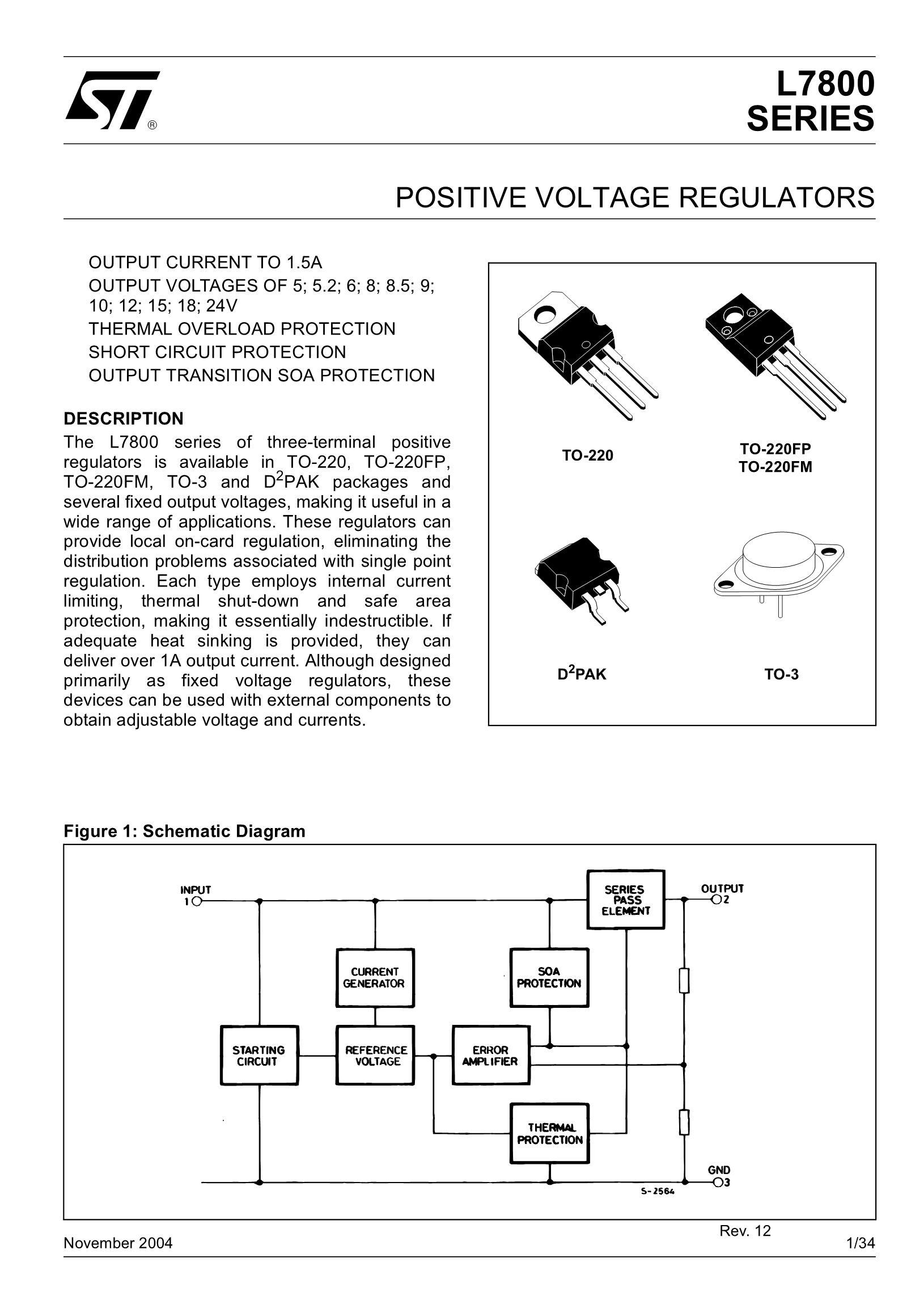 L7805CDT's pdf picture 1