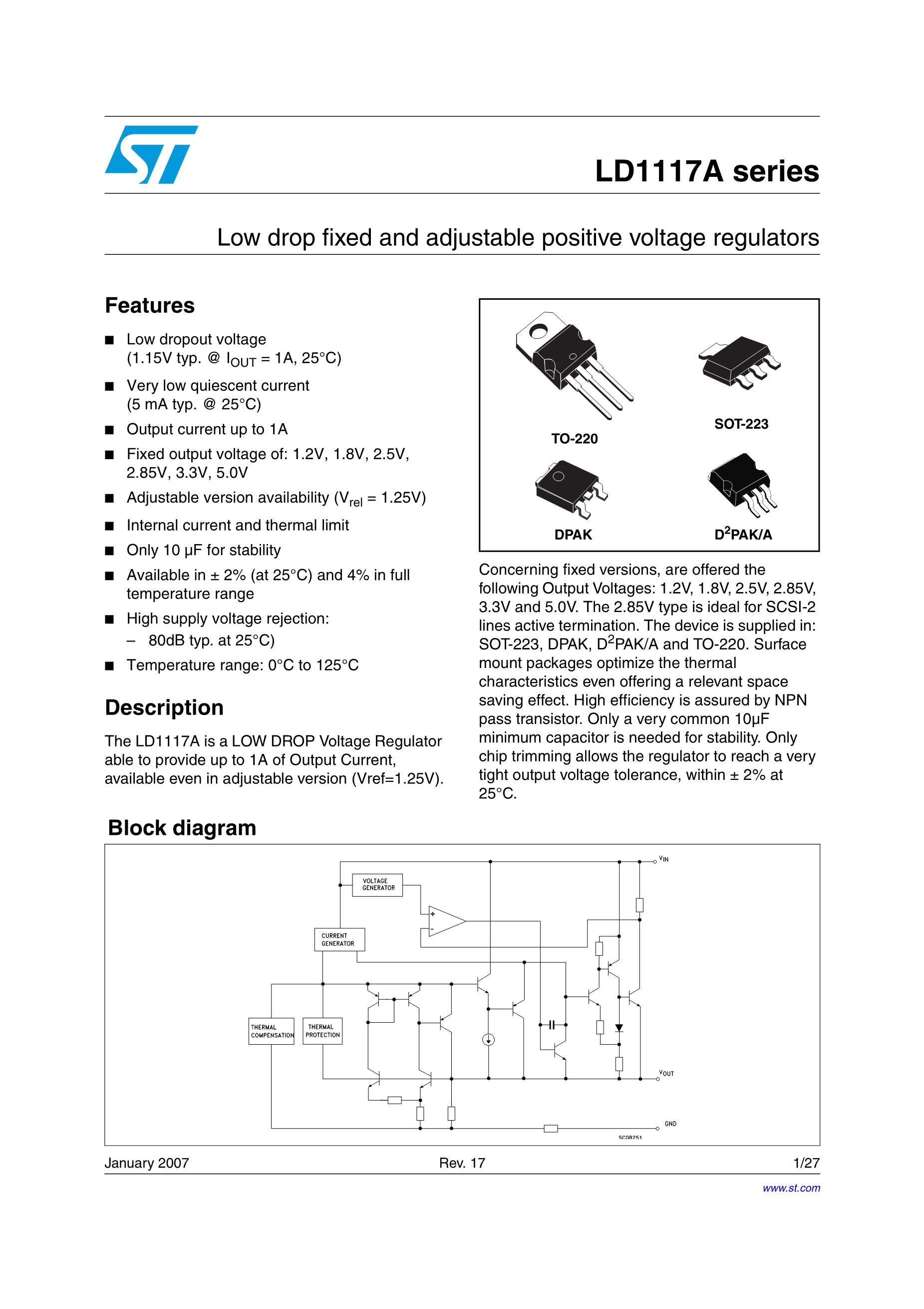 LD1117AS18TR's pdf picture 1