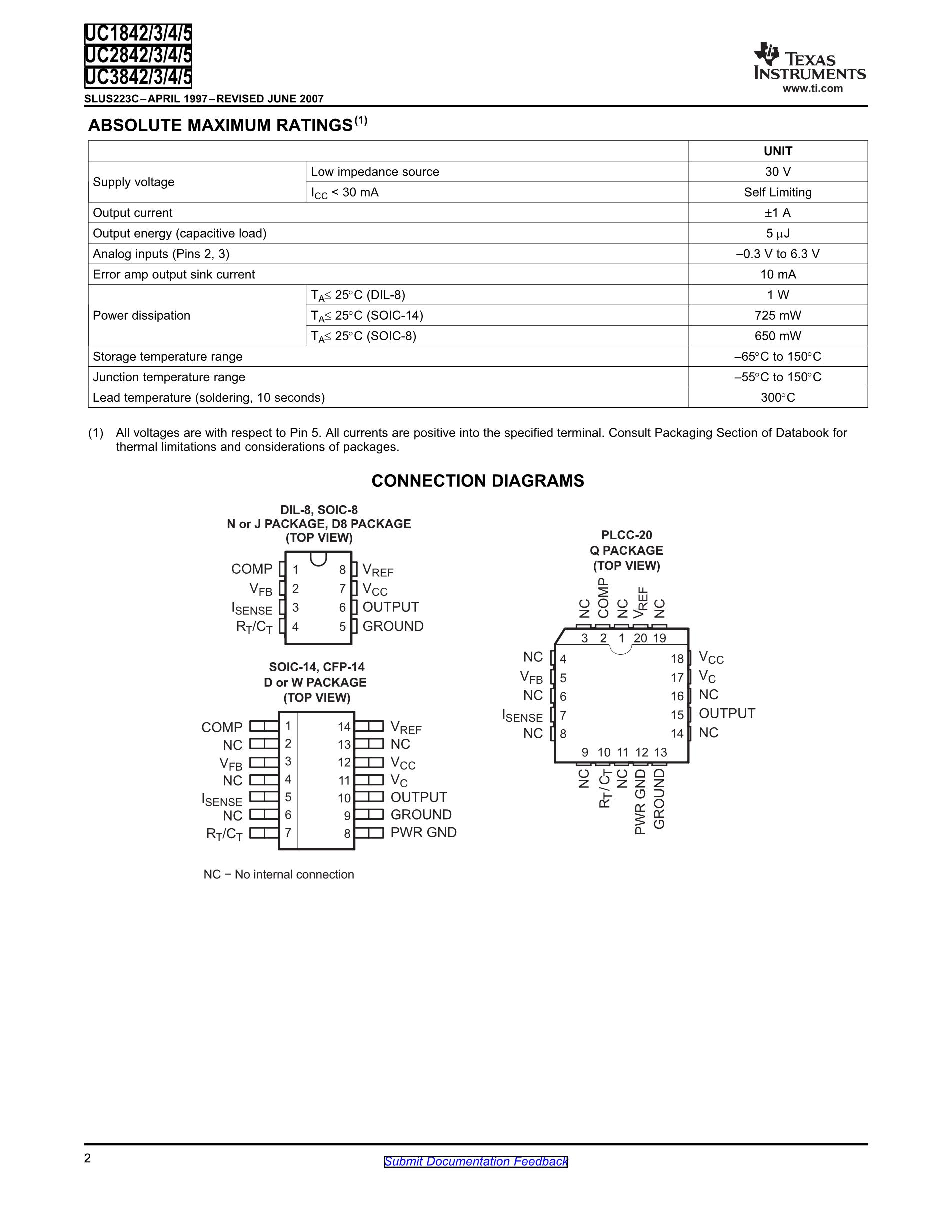UC2842AD1013TR's pdf picture 2