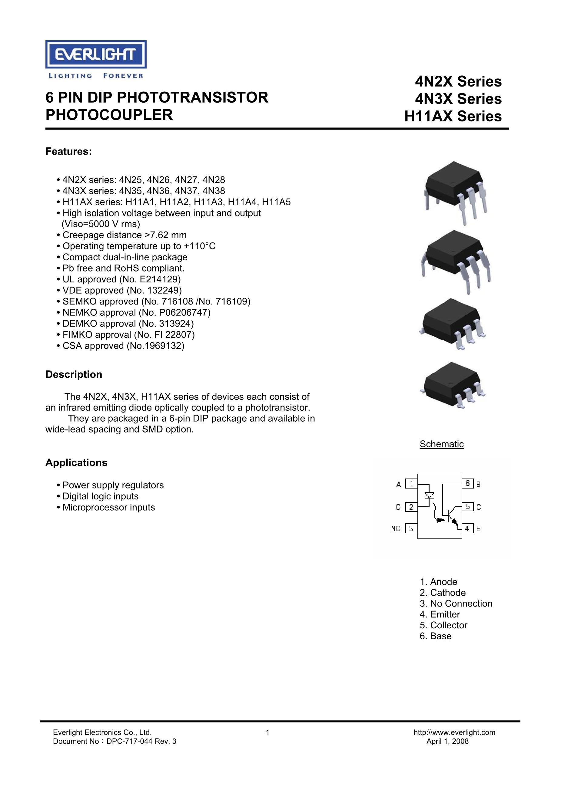 H11A817DW's pdf picture 1