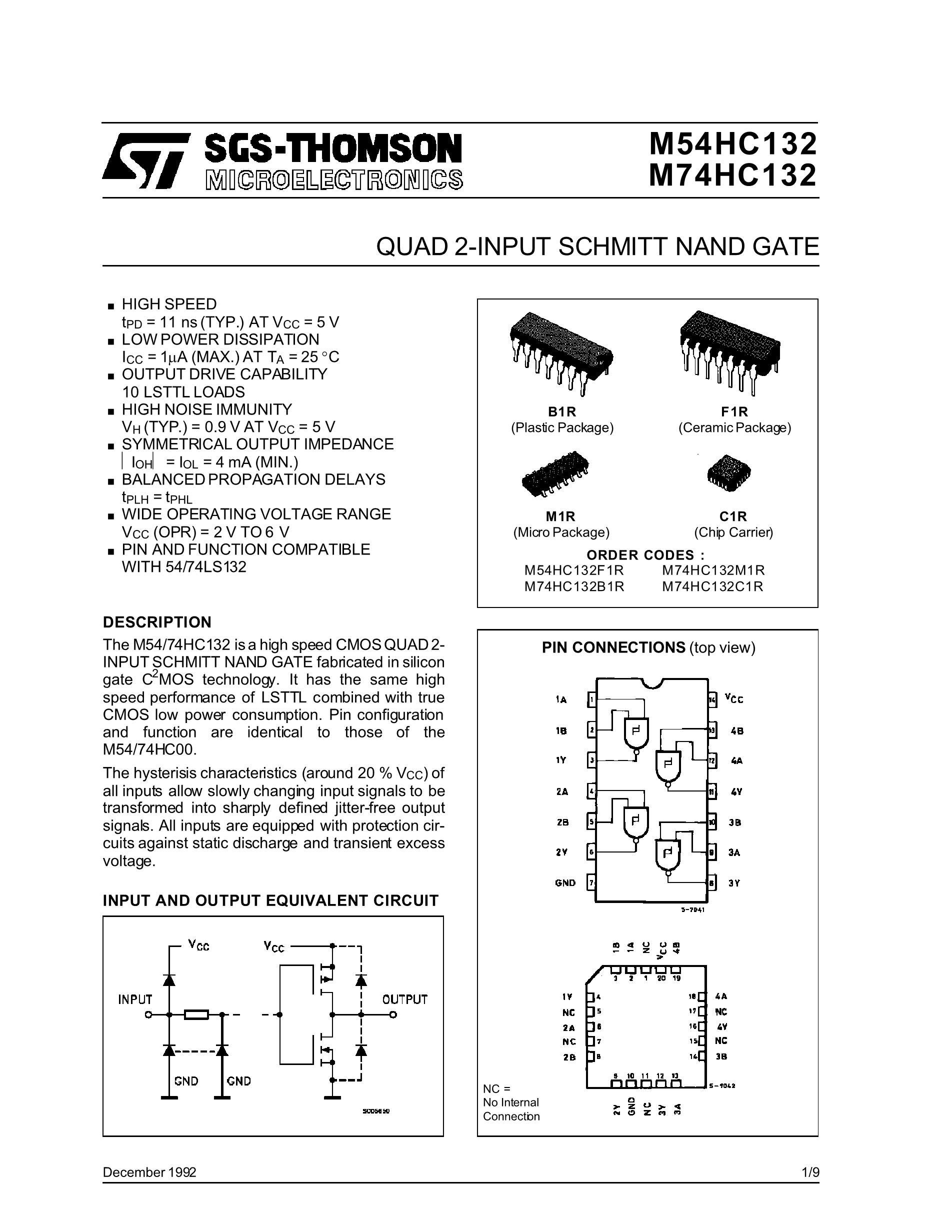 M74HC280B1R's pdf picture 1