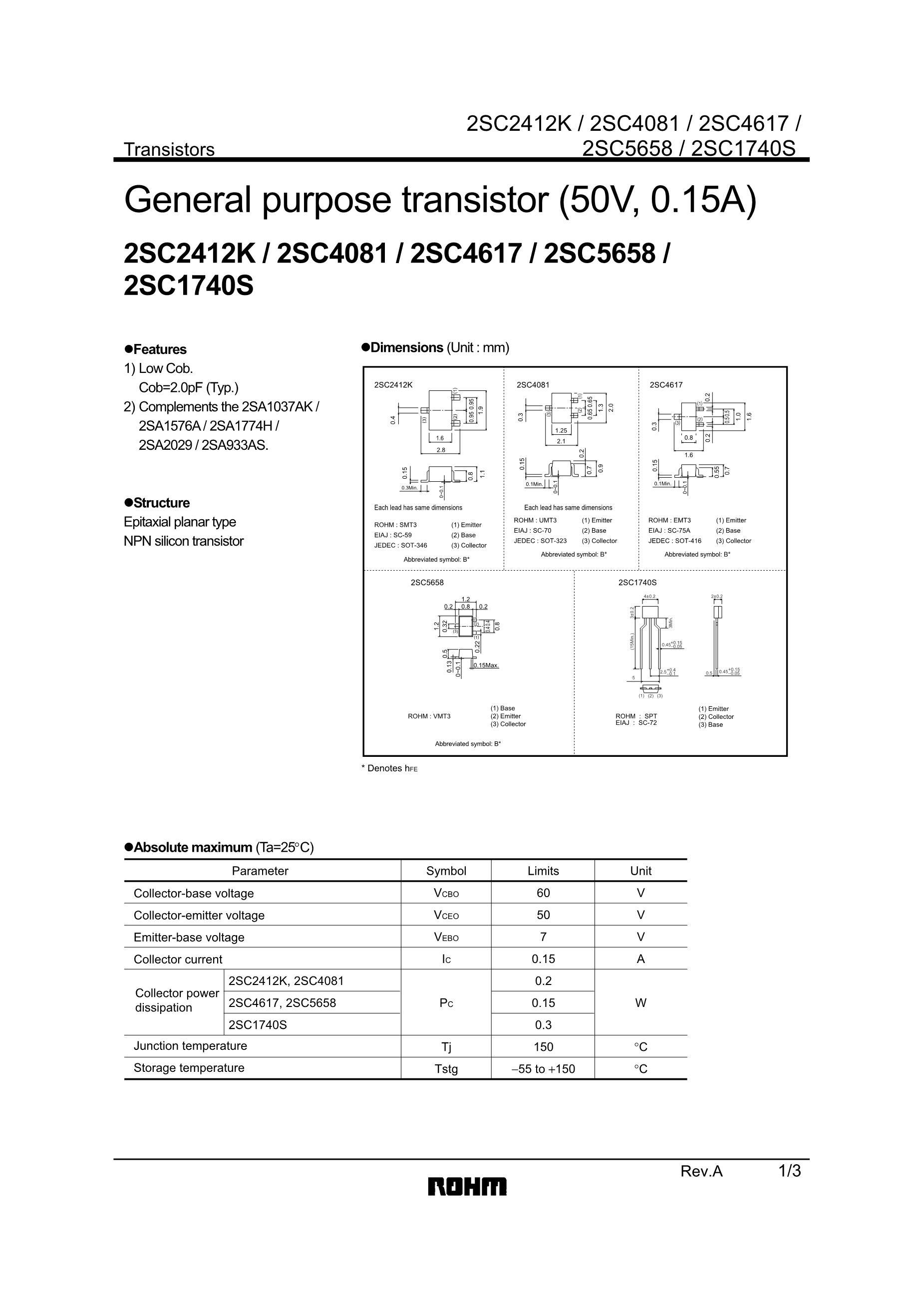 2SC4178's pdf picture 1