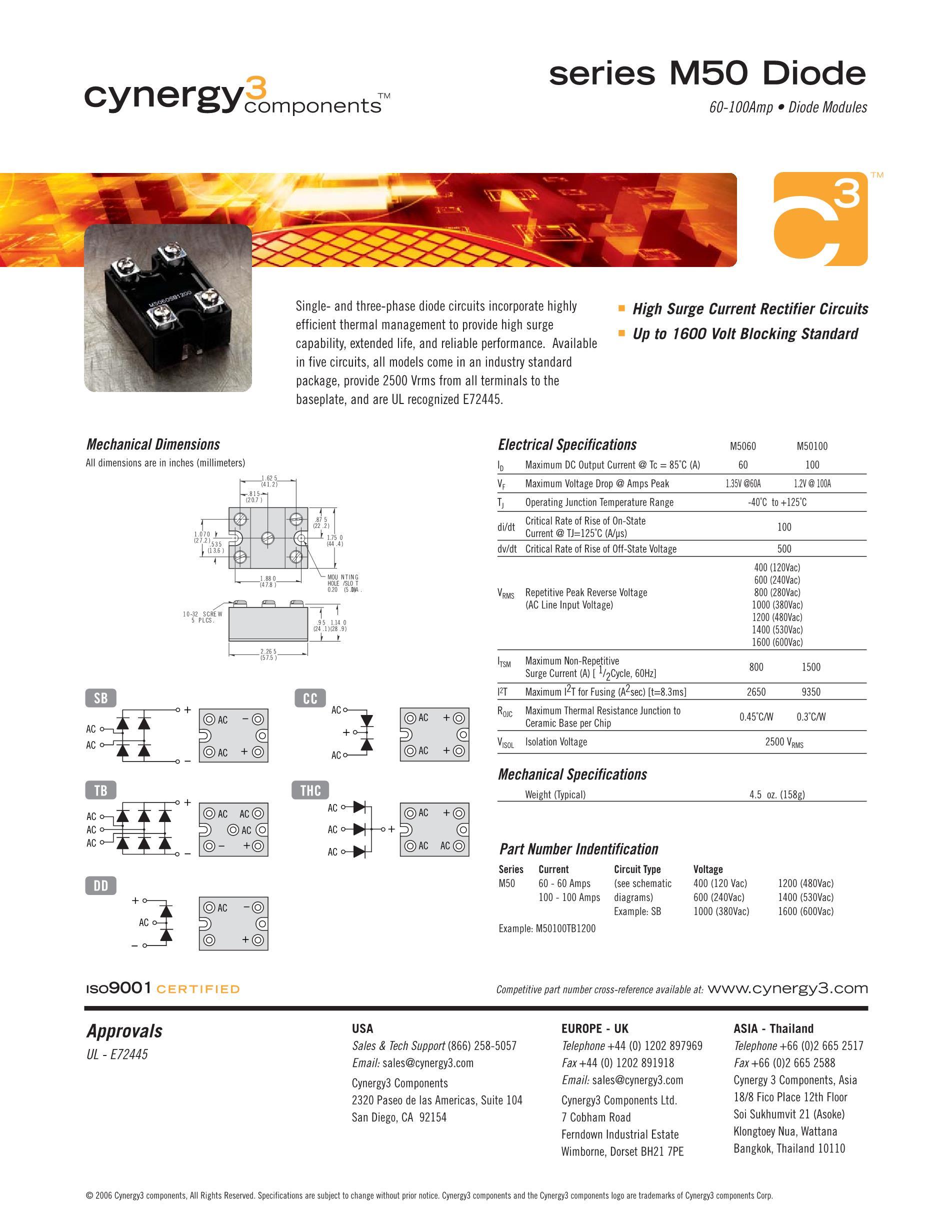 M50100THC160's pdf picture 1