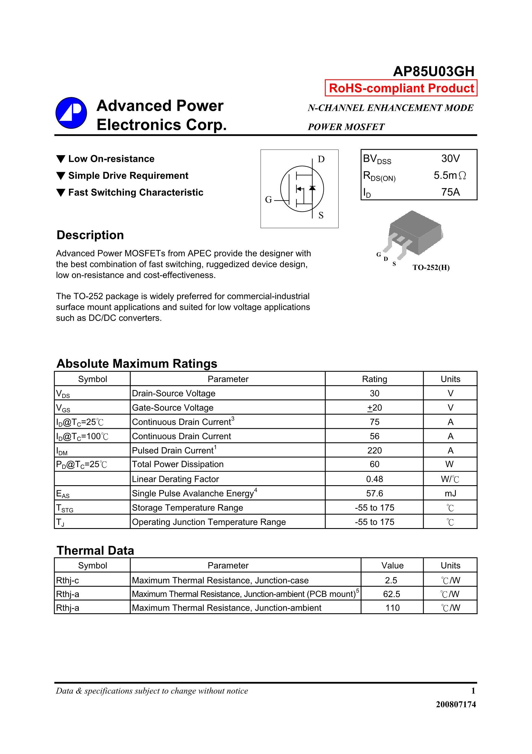 AP8575AGJ's pdf picture 1