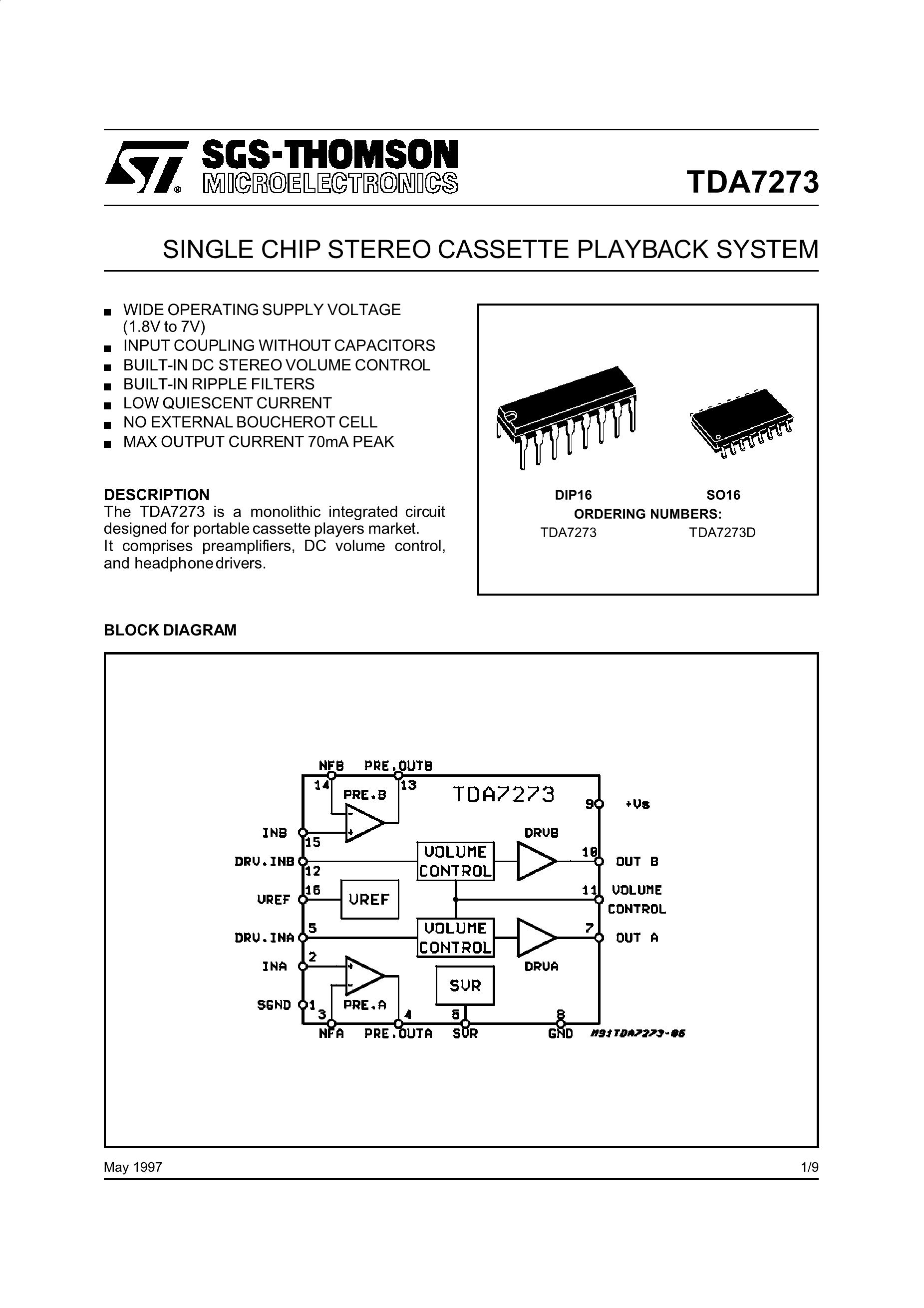 7273-2EV50's pdf picture 1