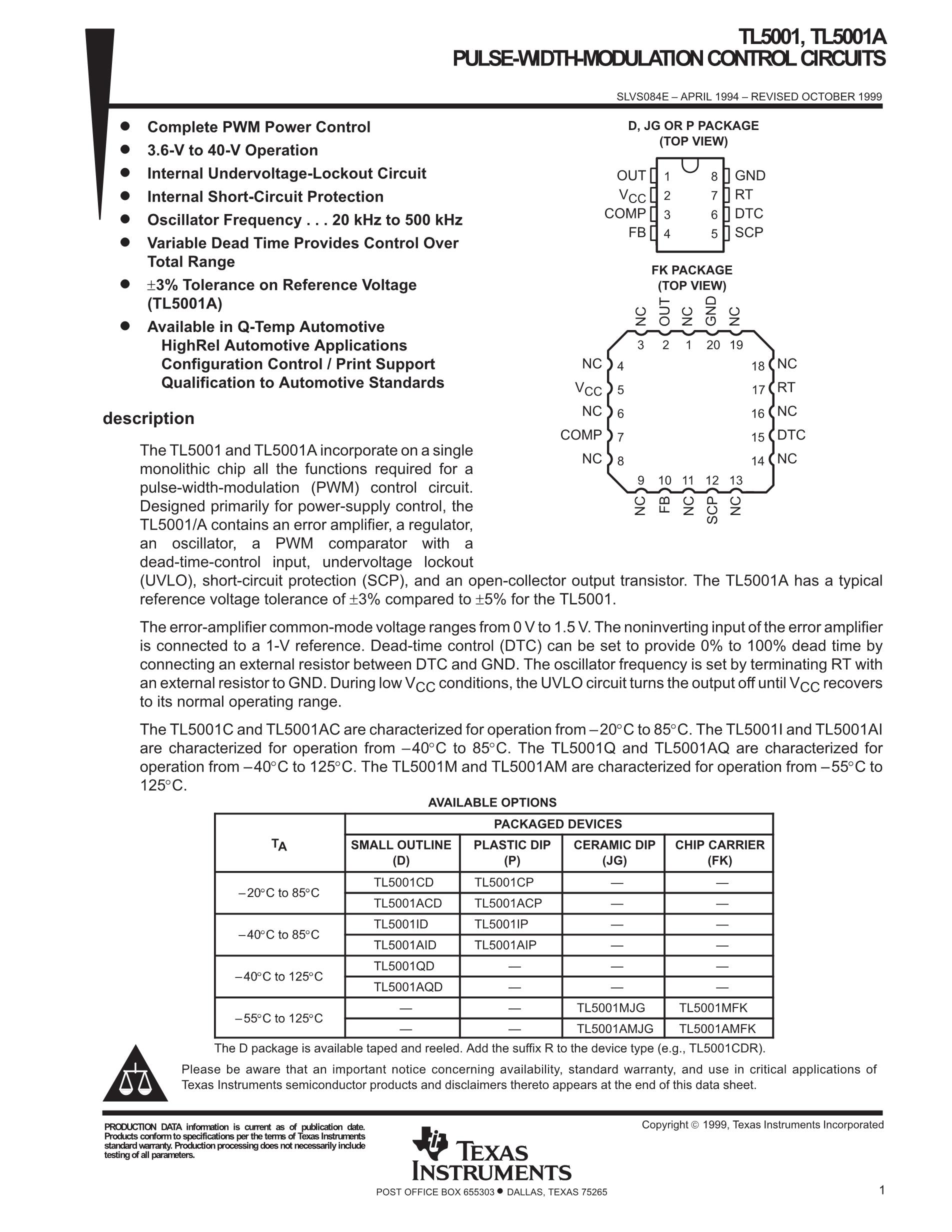TL5001CPSG4's pdf picture 1