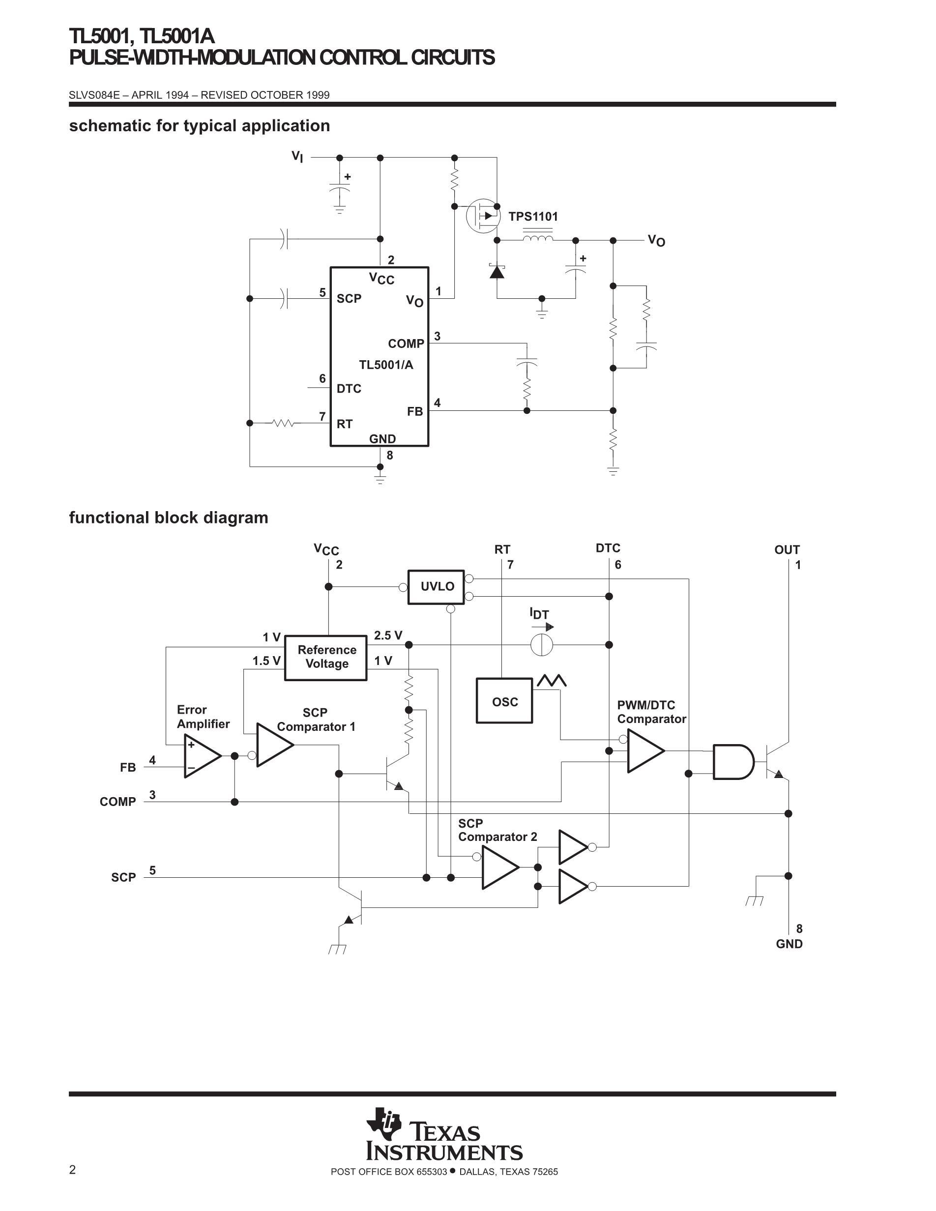 TL5001CPSG4's pdf picture 2