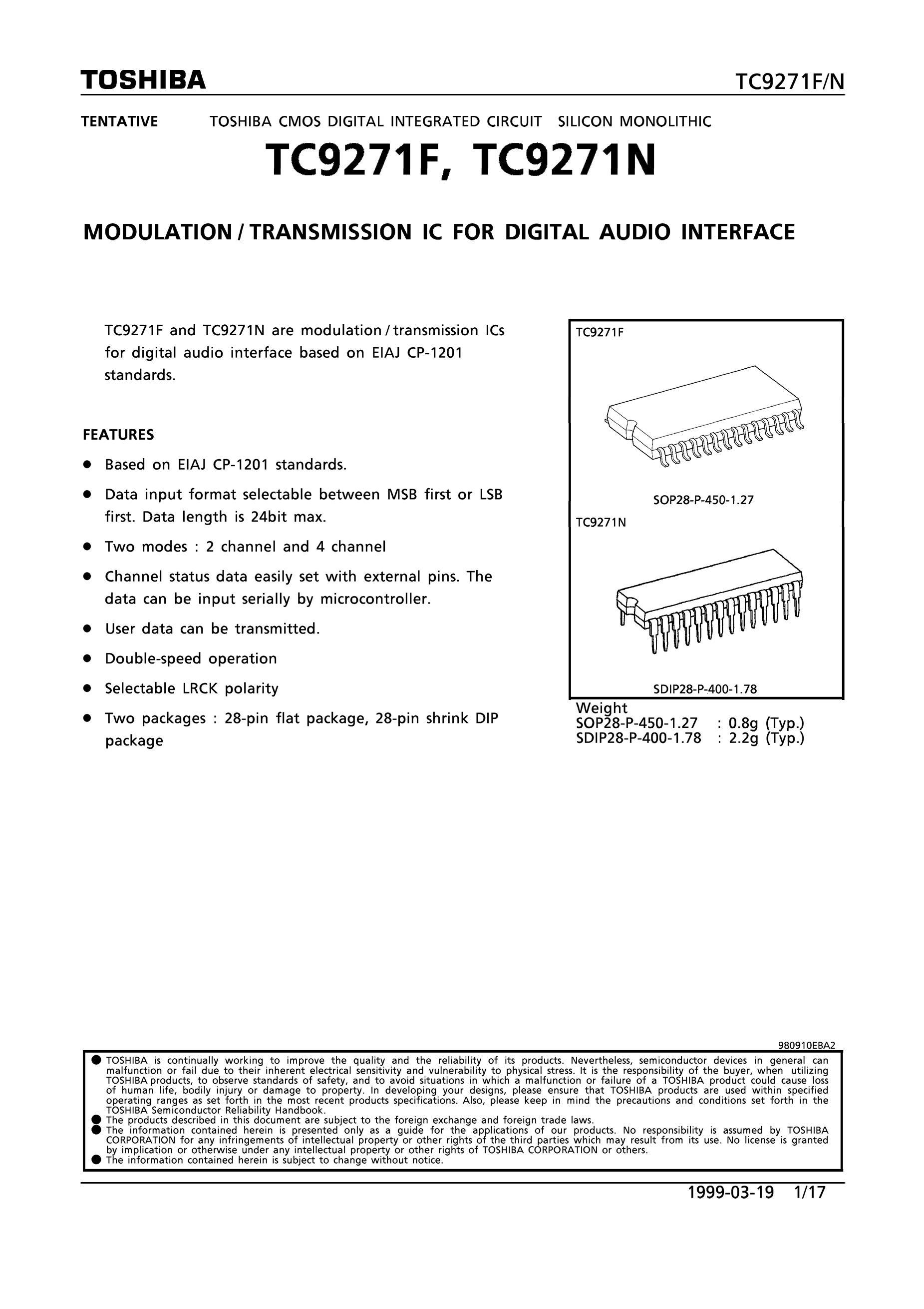 TC9254AP's pdf picture 1