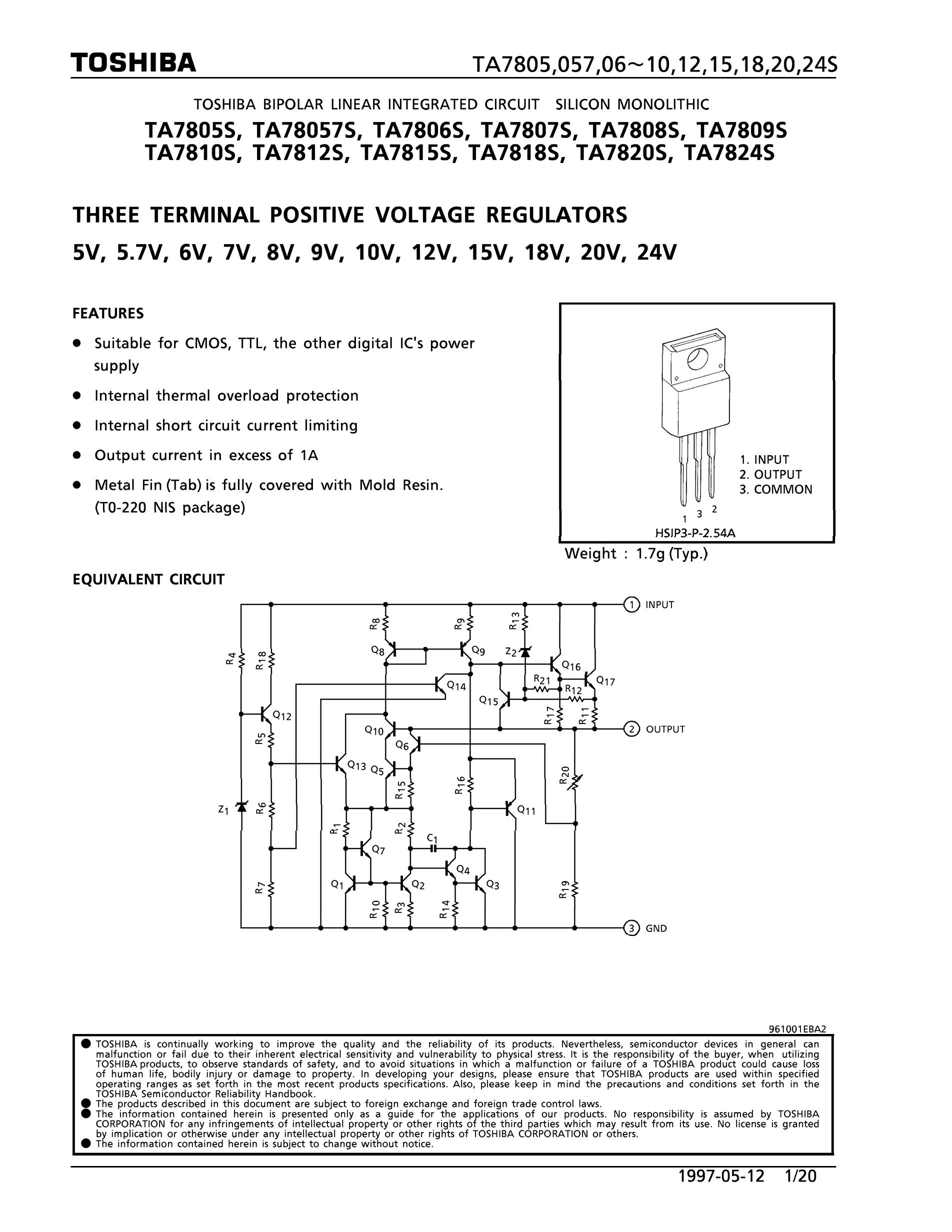 TA78L09F's pdf picture 1