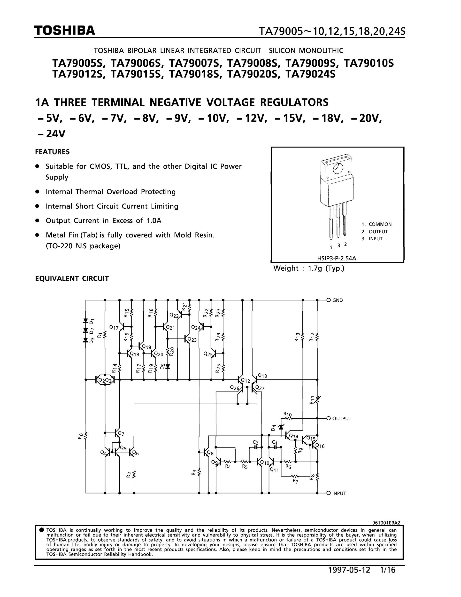 TA7924S's pdf picture 1