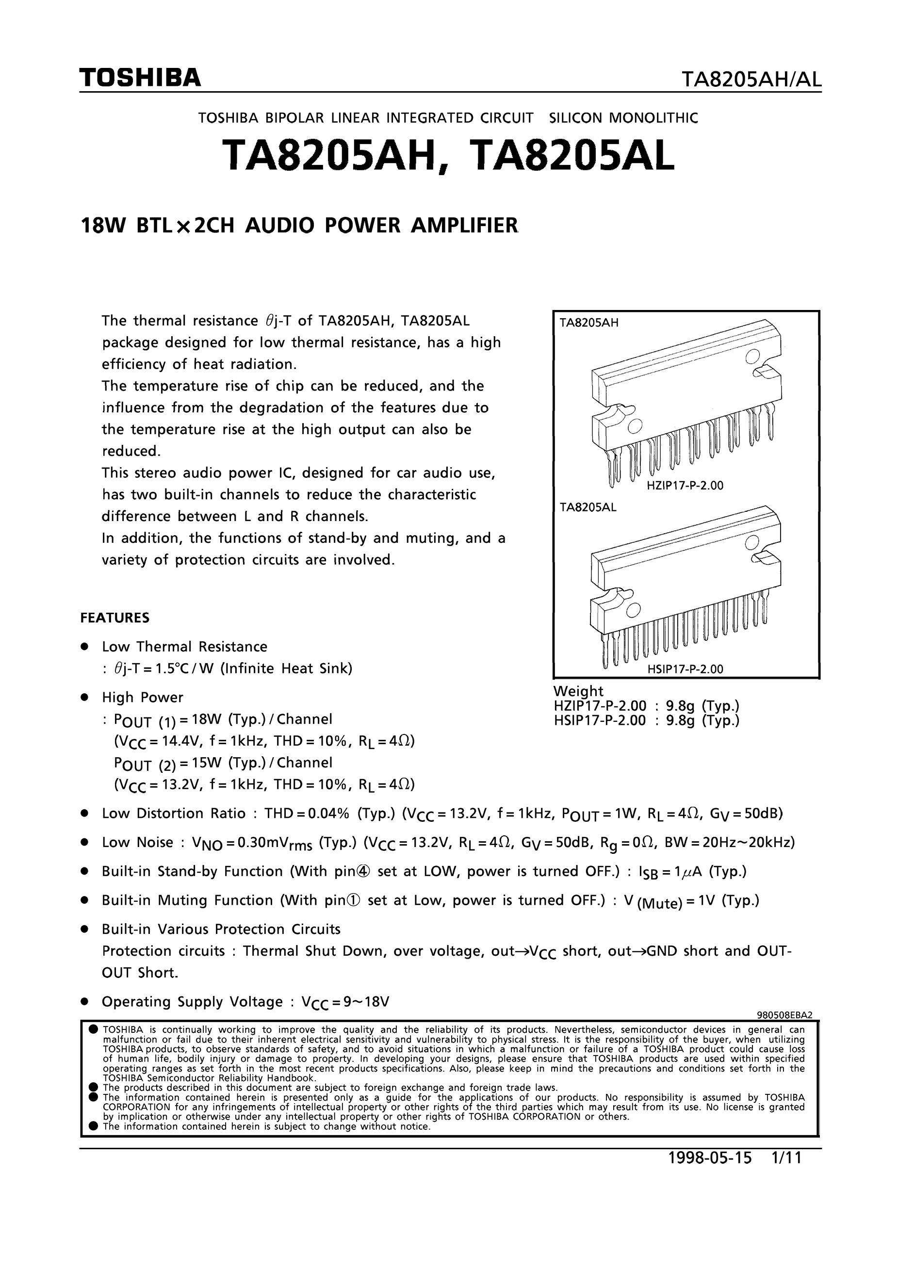 TA8217P's pdf picture 1