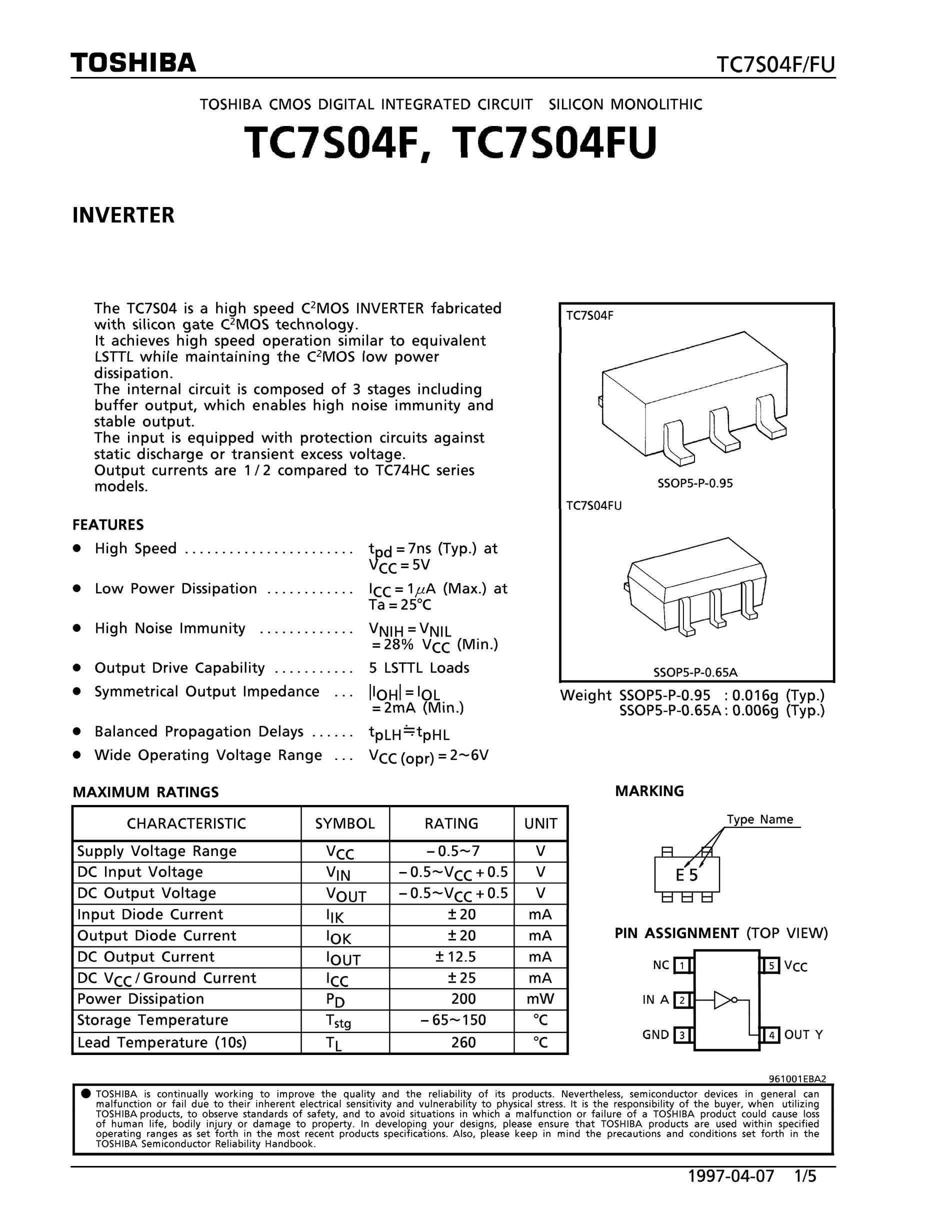 TC7SH32FK's pdf picture 1