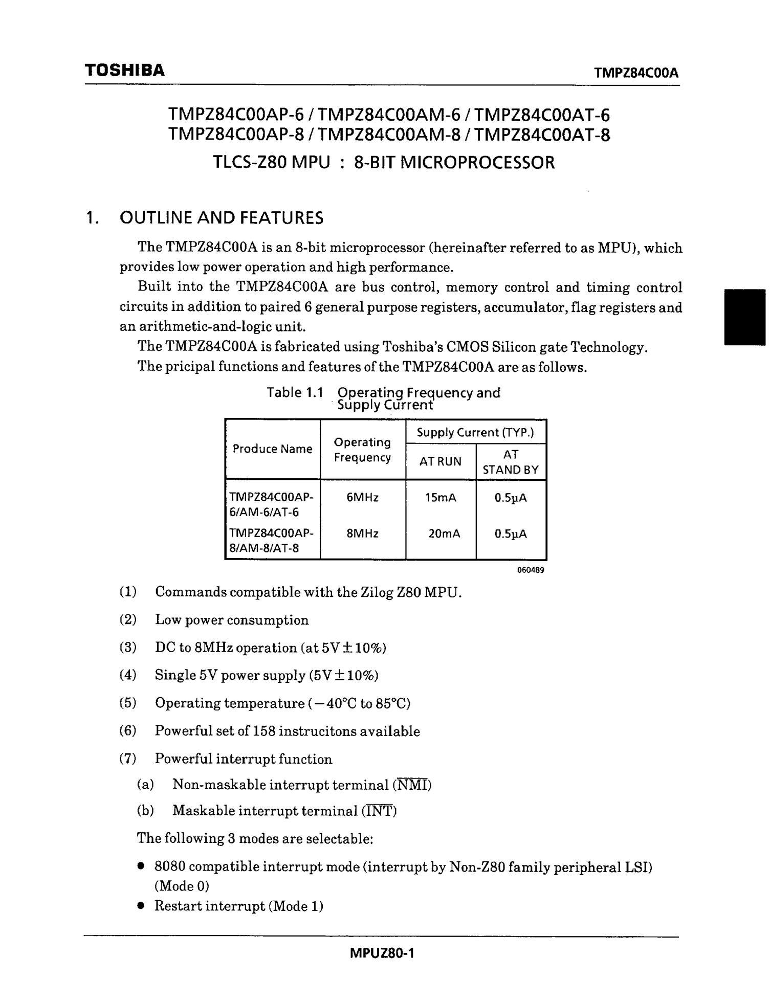 TMPZ5241LT's pdf picture 1