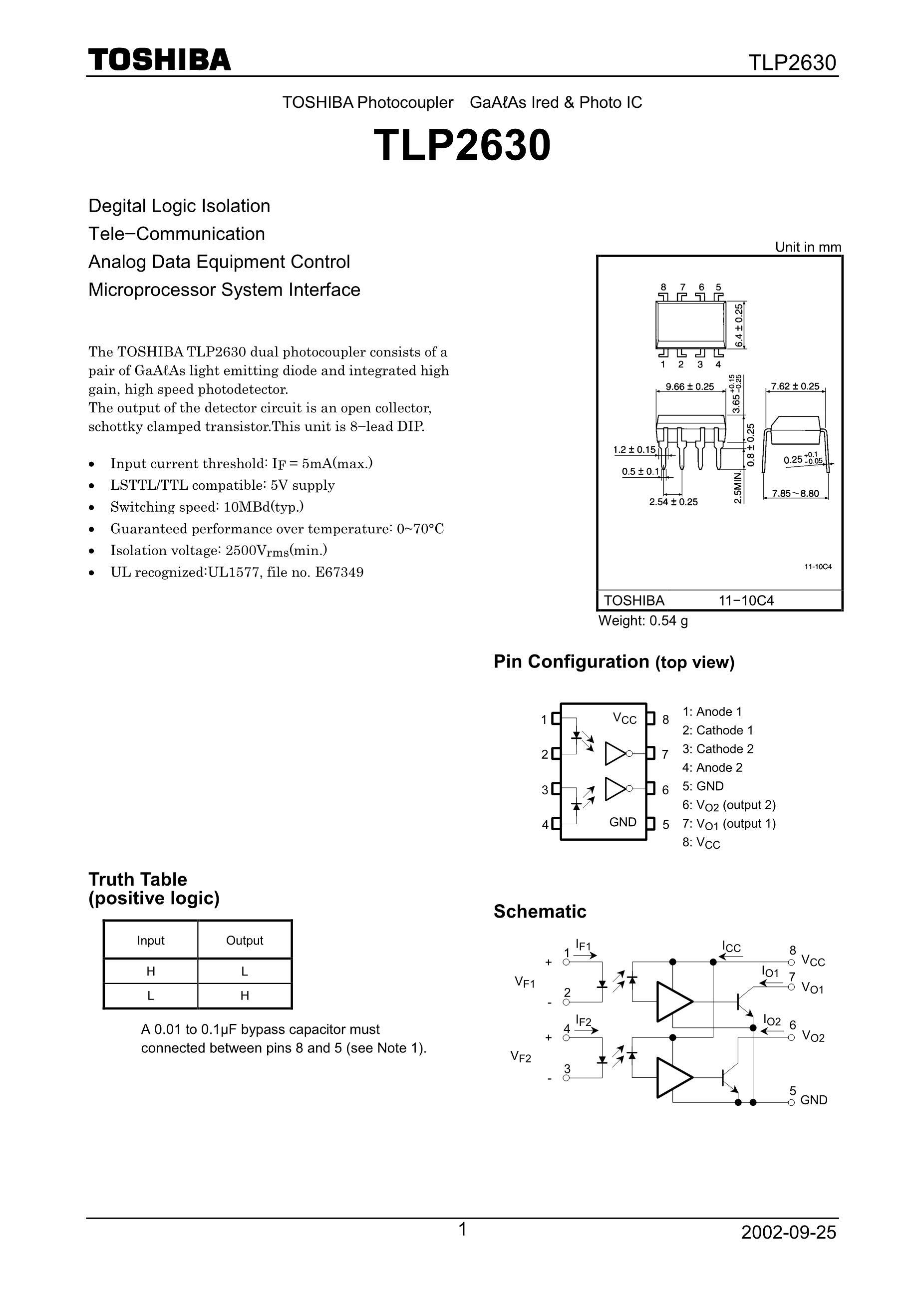 TLP2630's pdf picture 1