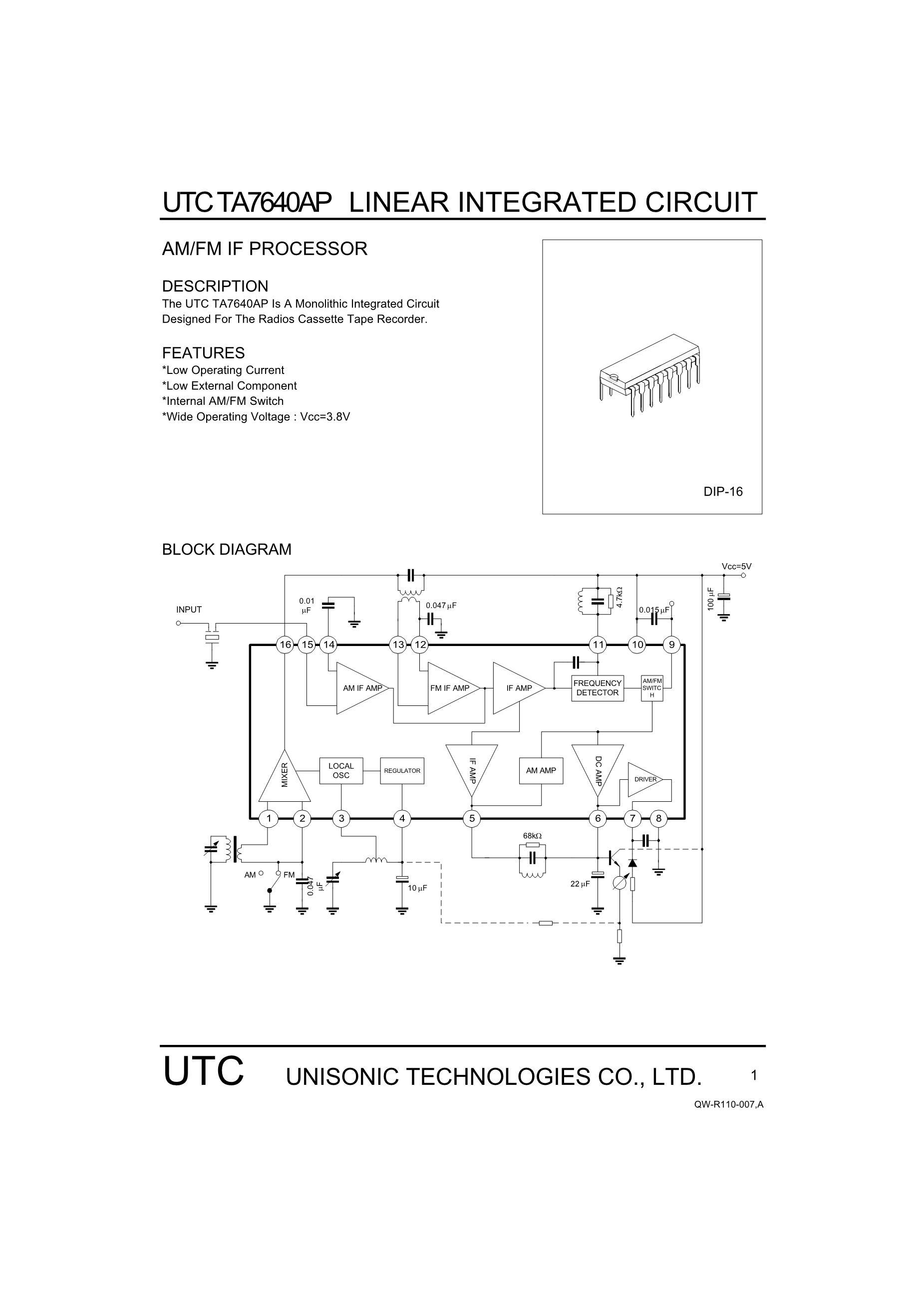 TA76432FC(TE85L's pdf picture 1