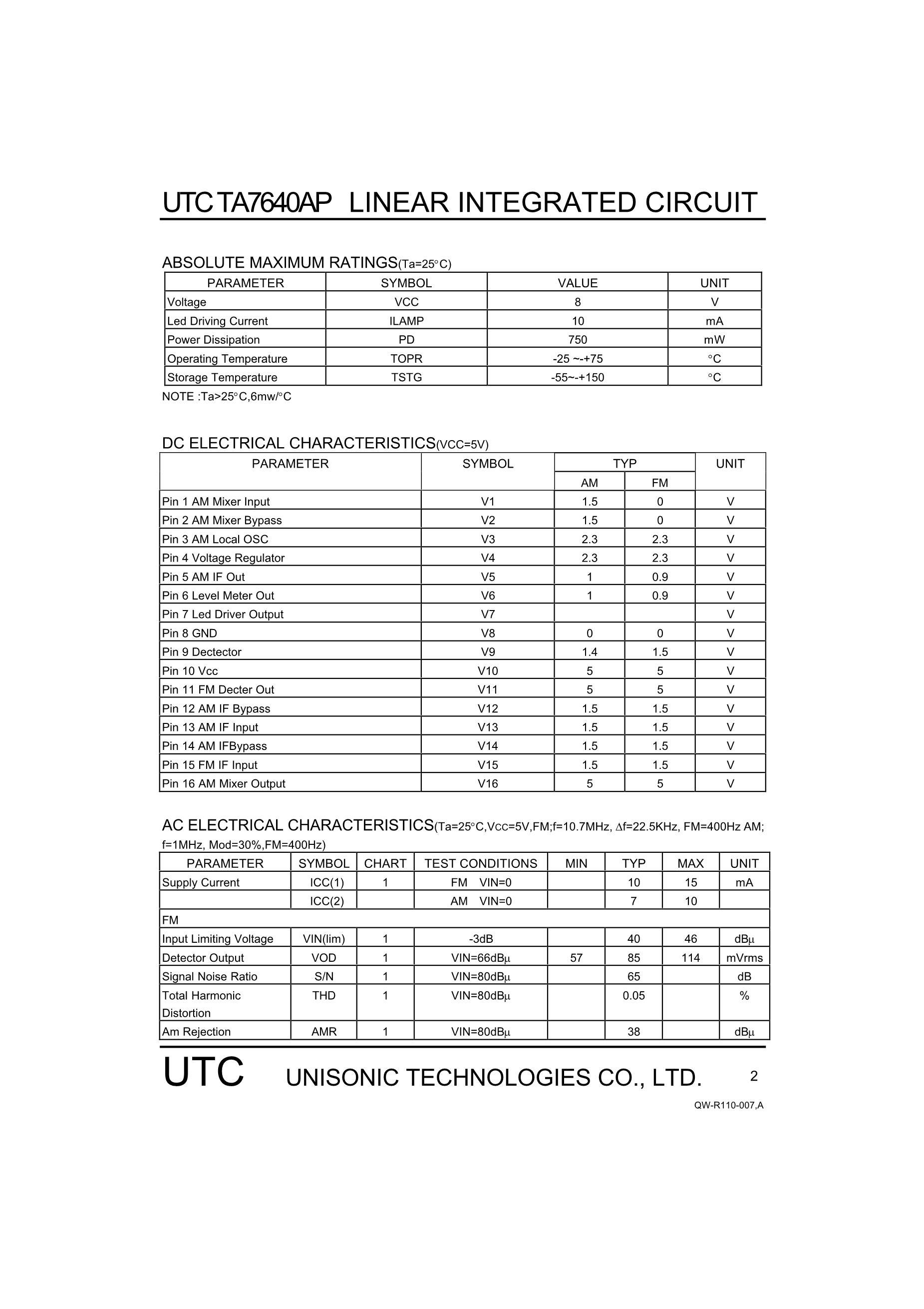 TA76432FC(TE85L's pdf picture 2