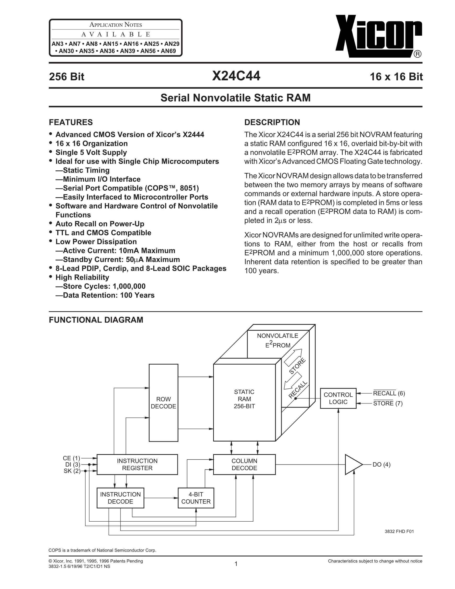 X24C02S8-C's pdf picture 1