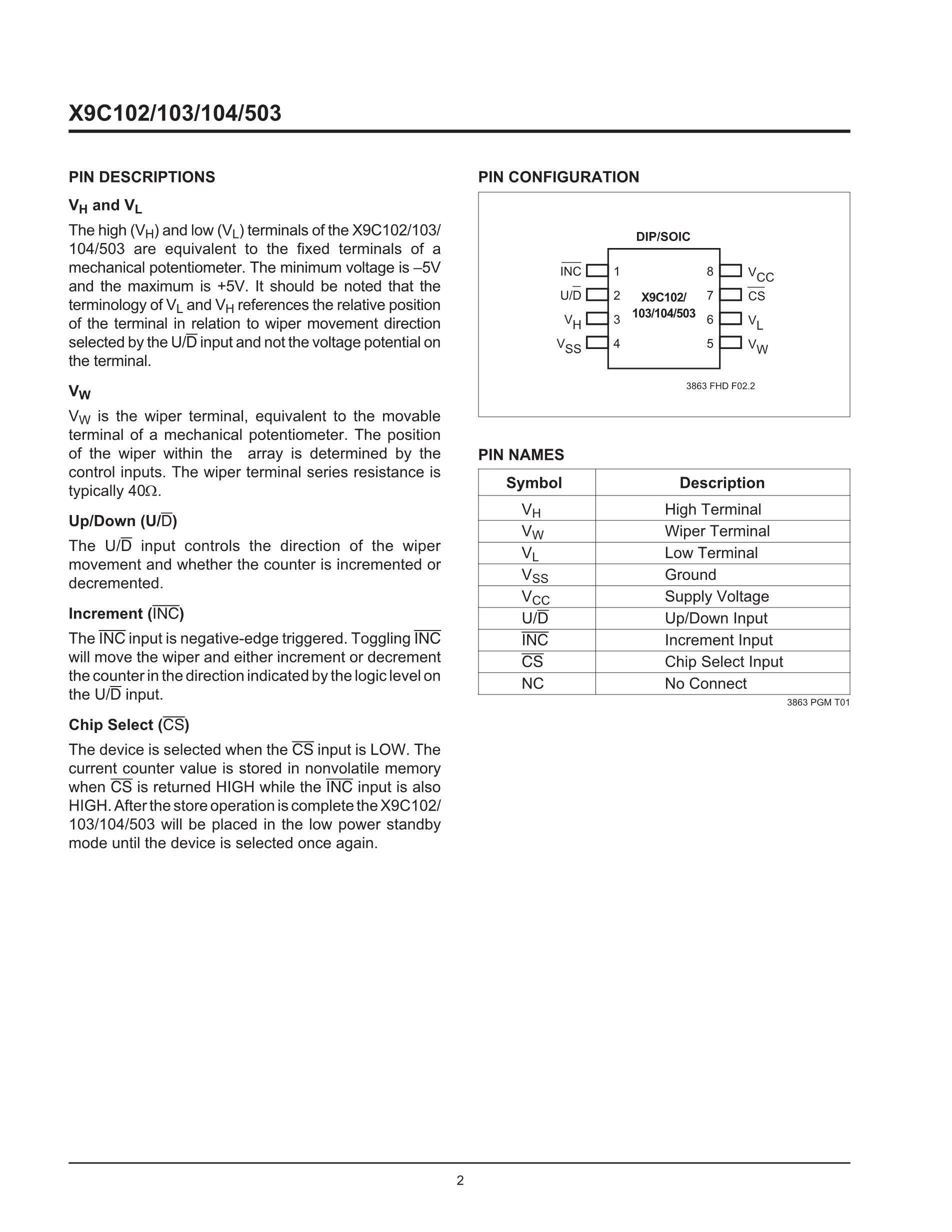 X9C104P-3's pdf picture 2