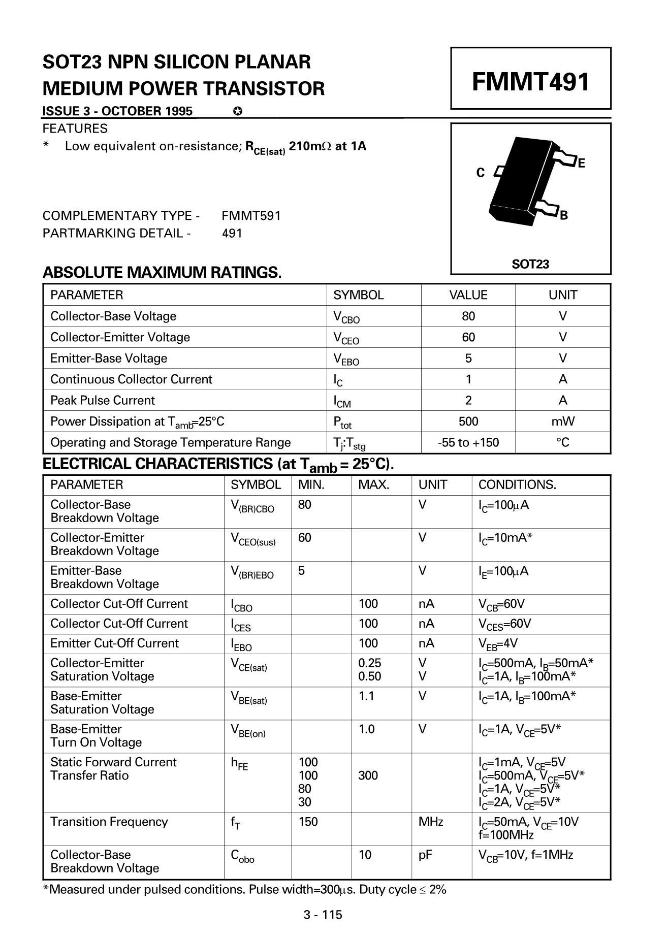 FMMT722's pdf picture 1