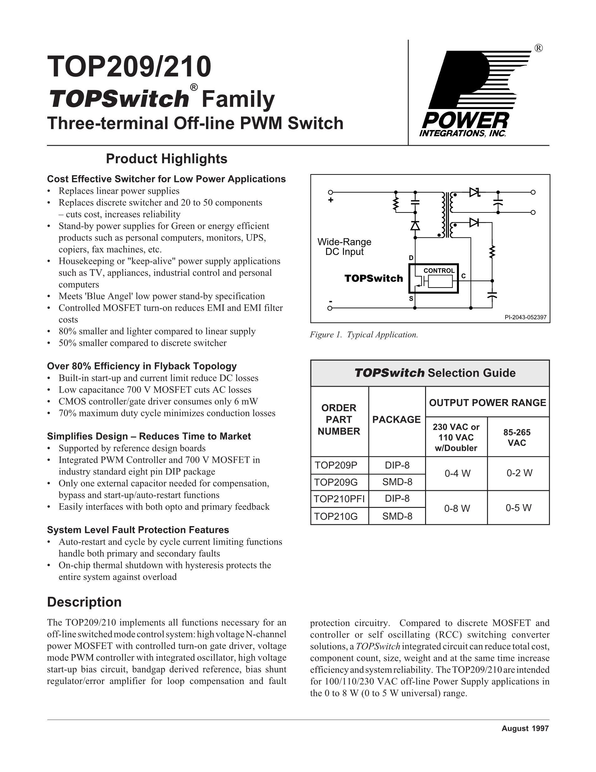 TOP210PFI's pdf picture 1