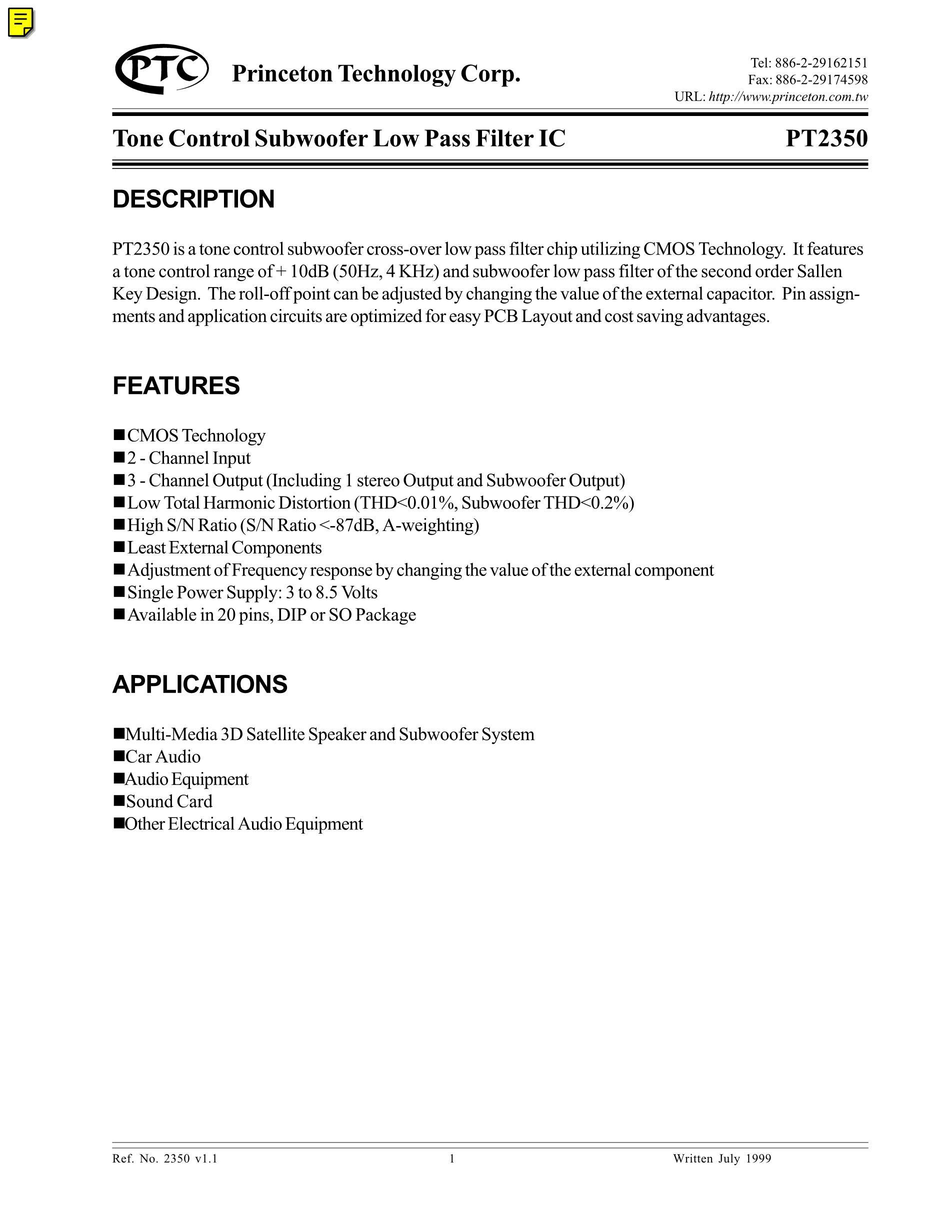 PT2313L's pdf picture 1